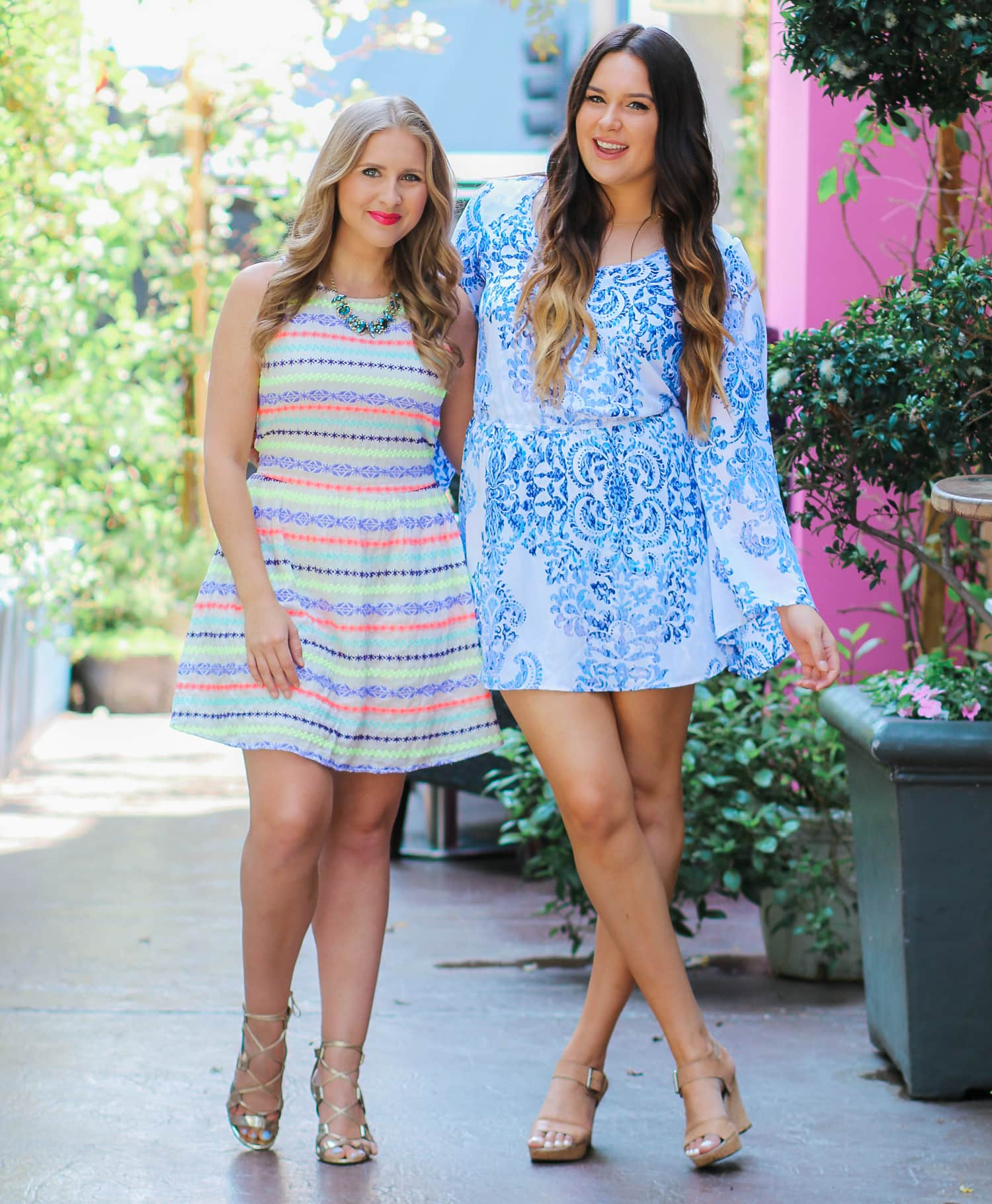 Ashley Brooke Nicholas and Mash Elle - Florida fashion bloggers