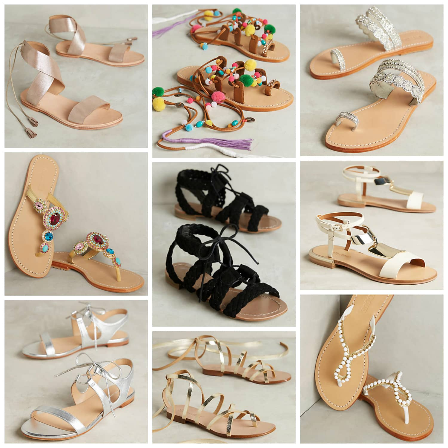 The cutest summer sandals