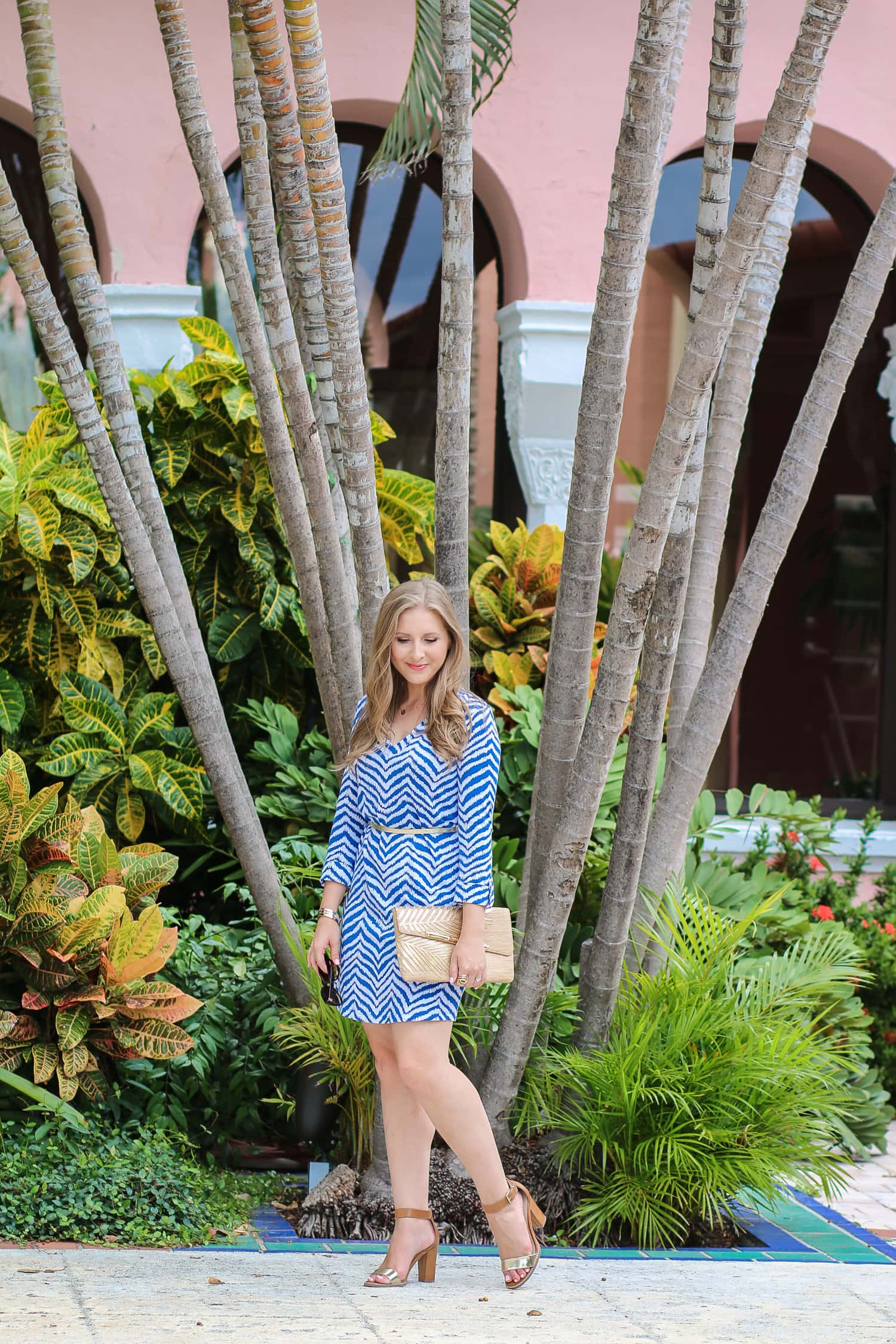 Lilly Pulitzer Rossmore Dress + A full review of the Boca Raton Resort & Club by blogger Ashley Brooke Nicholas