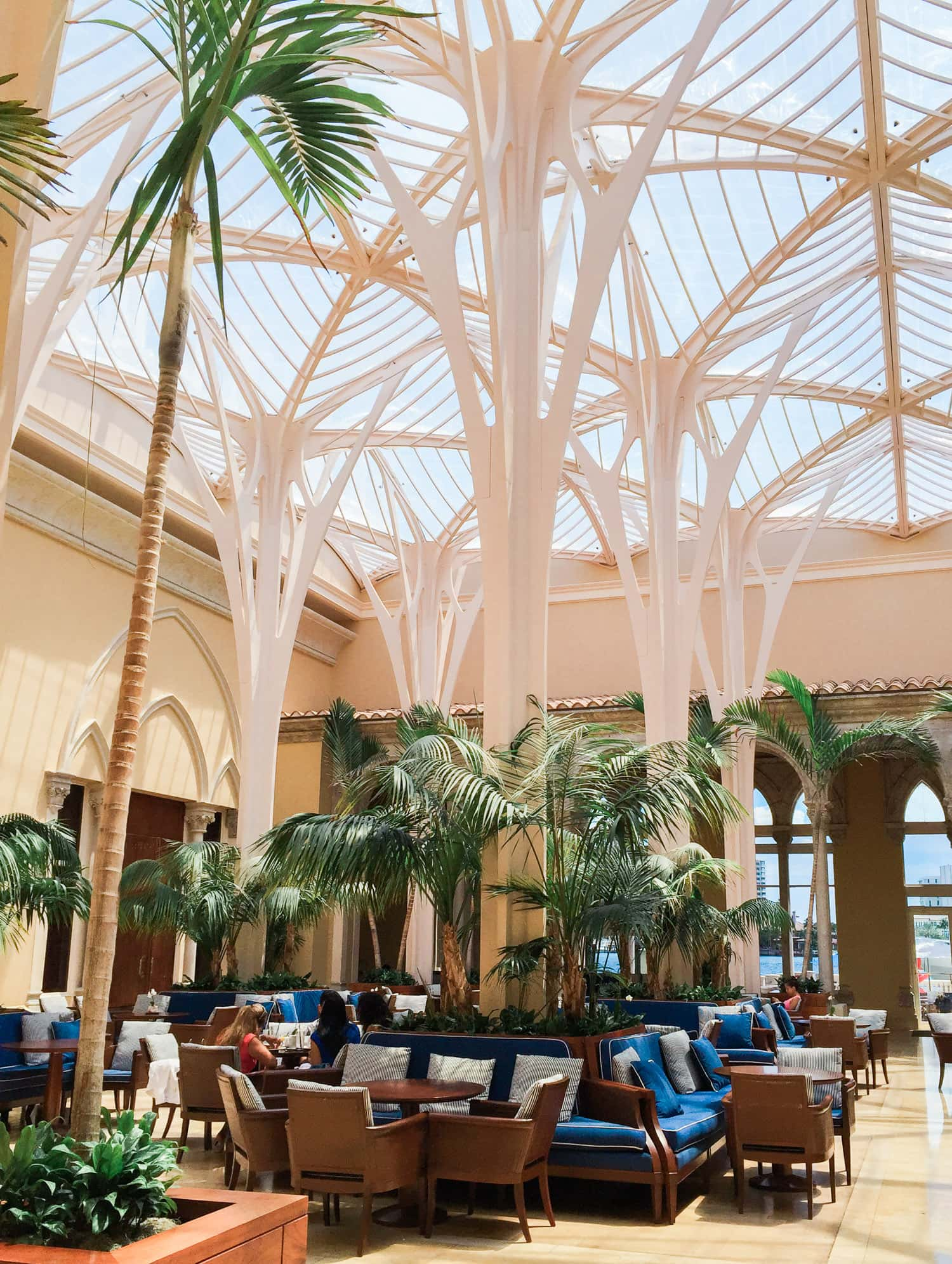 Palm Court restauarant review + A full review of the Boca Raton Resort & Club by blogger Ashley Brooke Nicholas