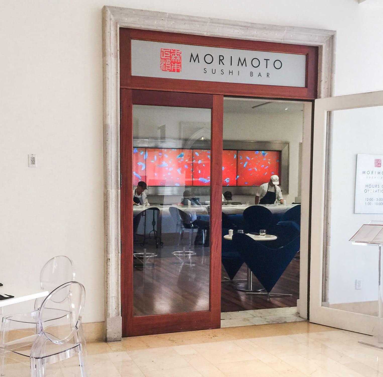 Morimoto sushi bar restaurant review + A full review of the Boca Raton Resort & Club by blogger Ashley Brooke Nicholas