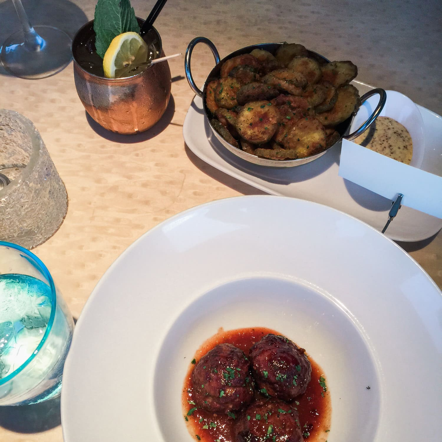 The Blue restaurant review + A full review of the Boca Raton Resort & Club by blogger Ashley Brooke Nicholas