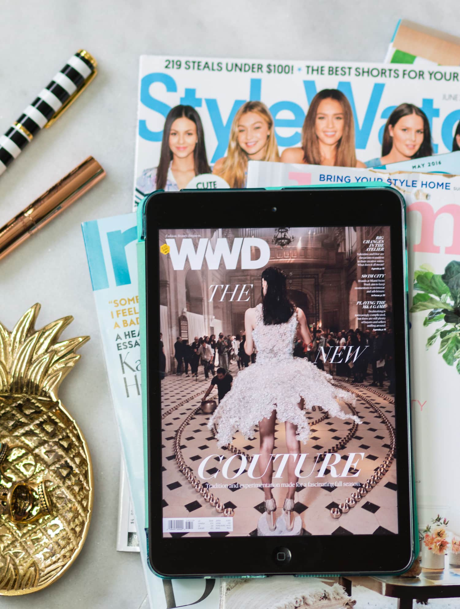 Style Blogger Ashley Brooke Is Sharing How To Get Your Favorite Magazine  Subscriptions For Less With