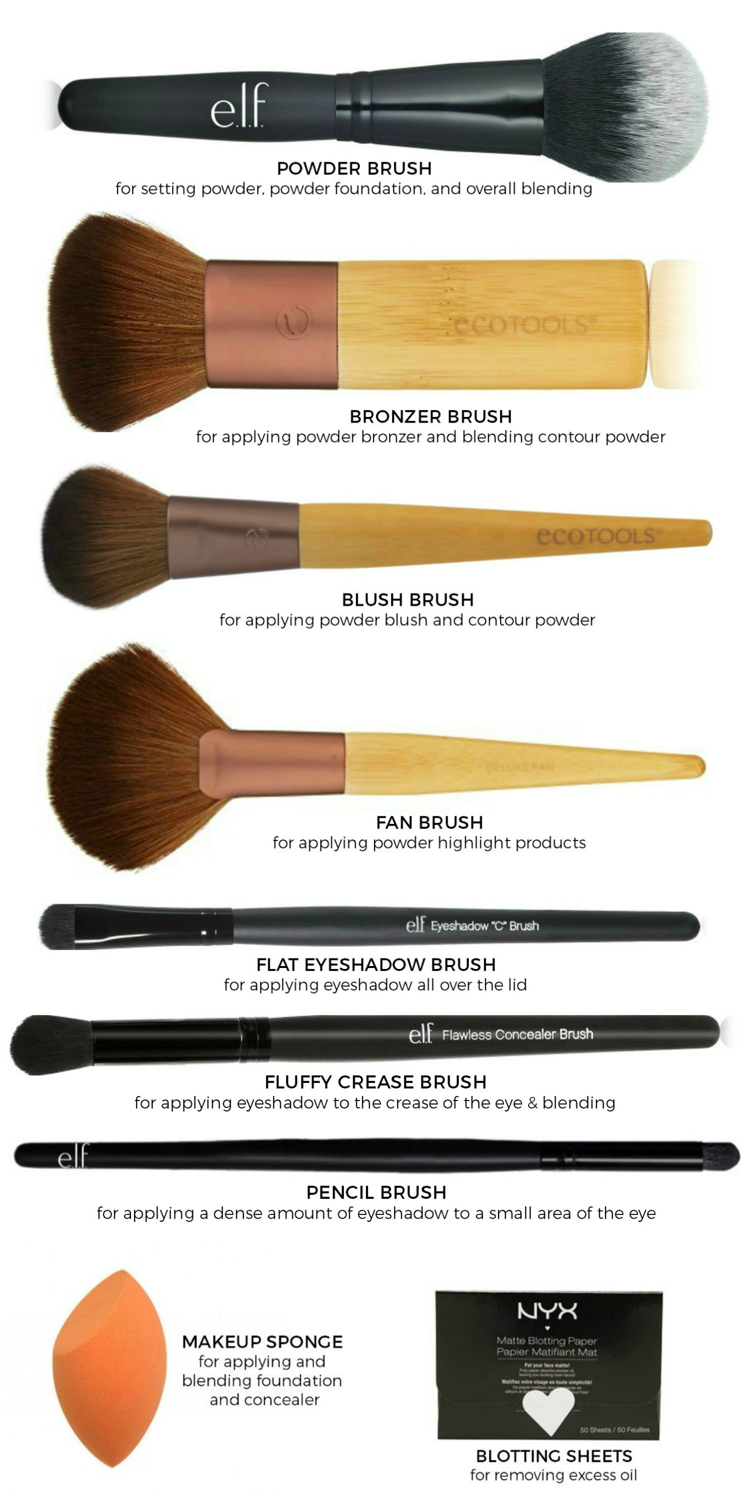 best cvs makeup brushes