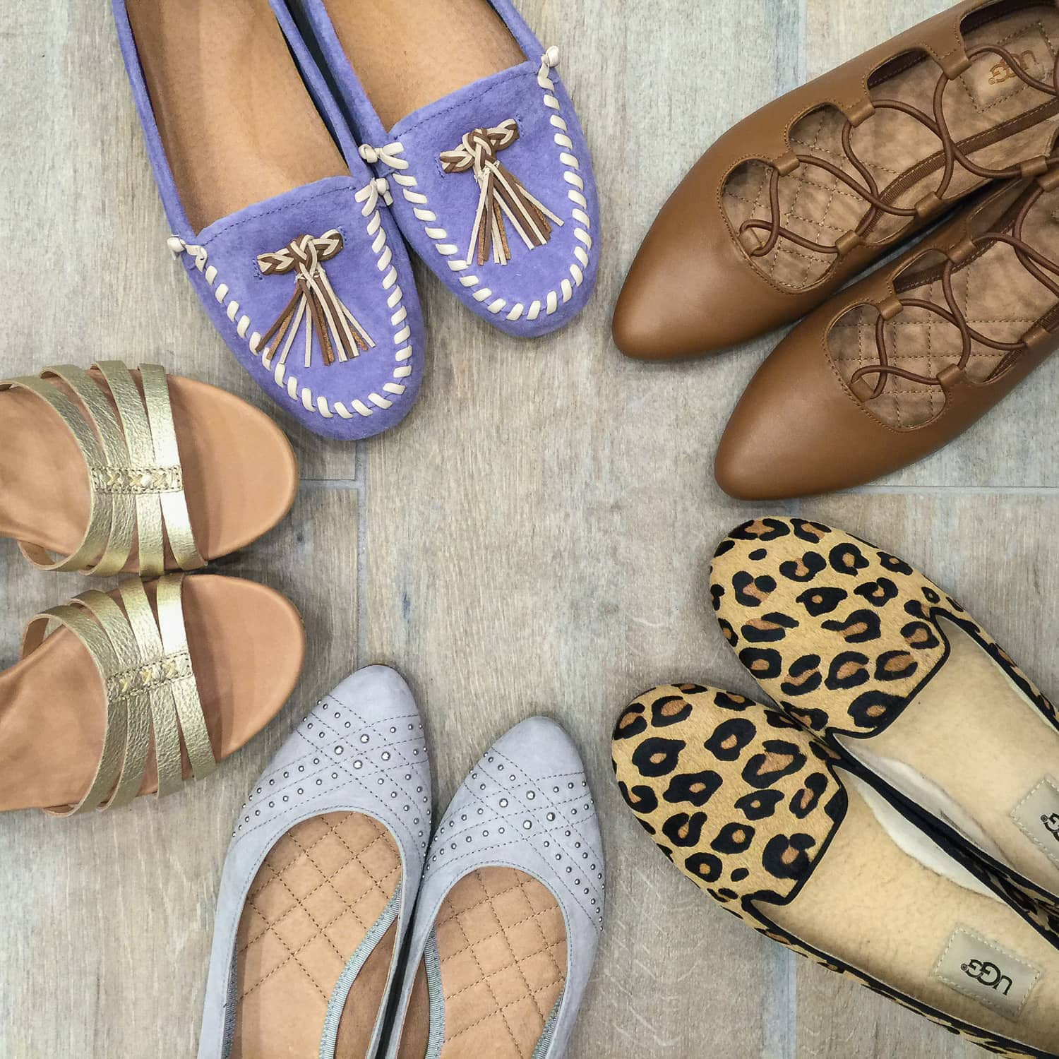 Cutest shoes for fall - Ugg ballet flats and loafers
