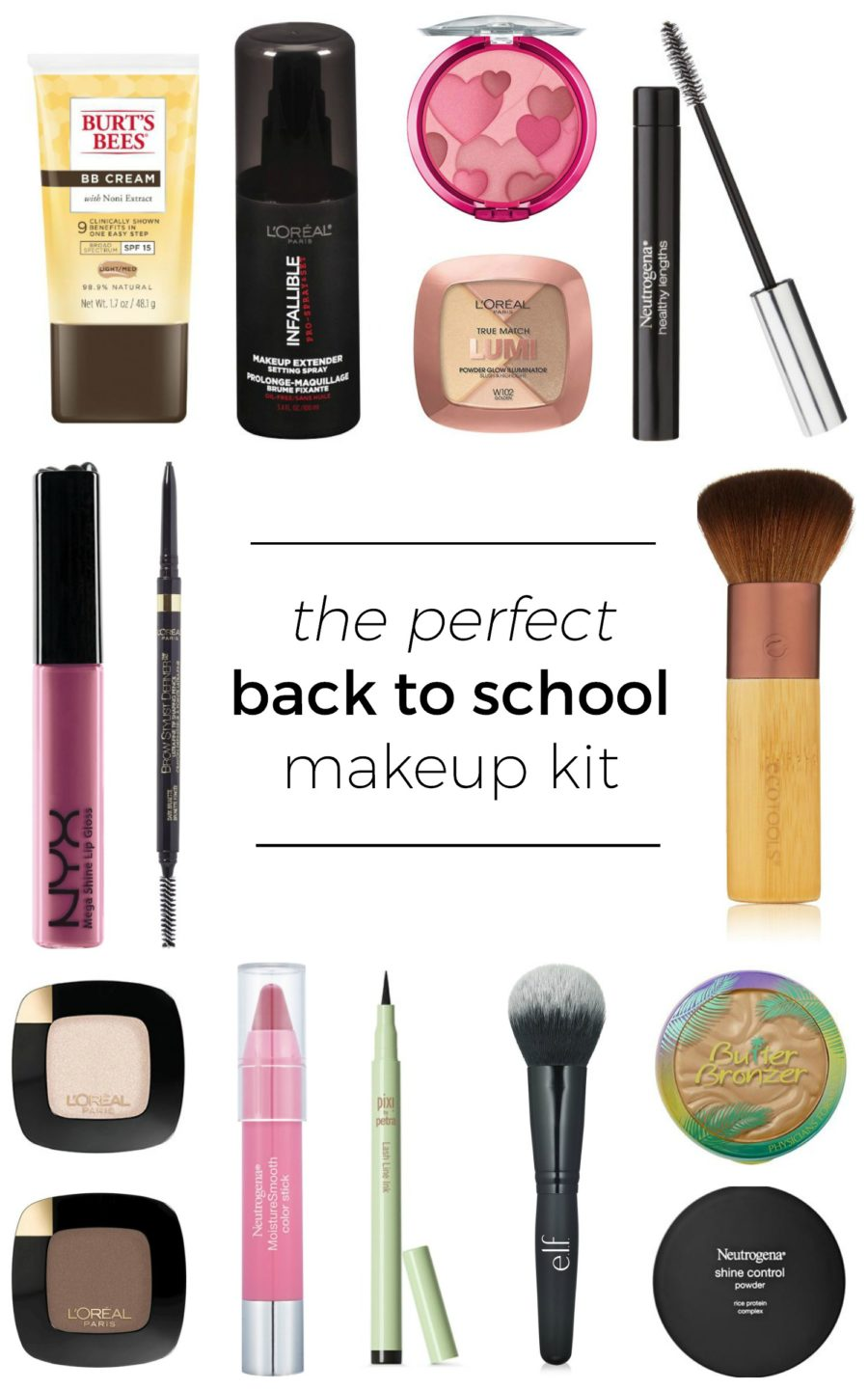 The Perfect Back to School Makeup Kit
