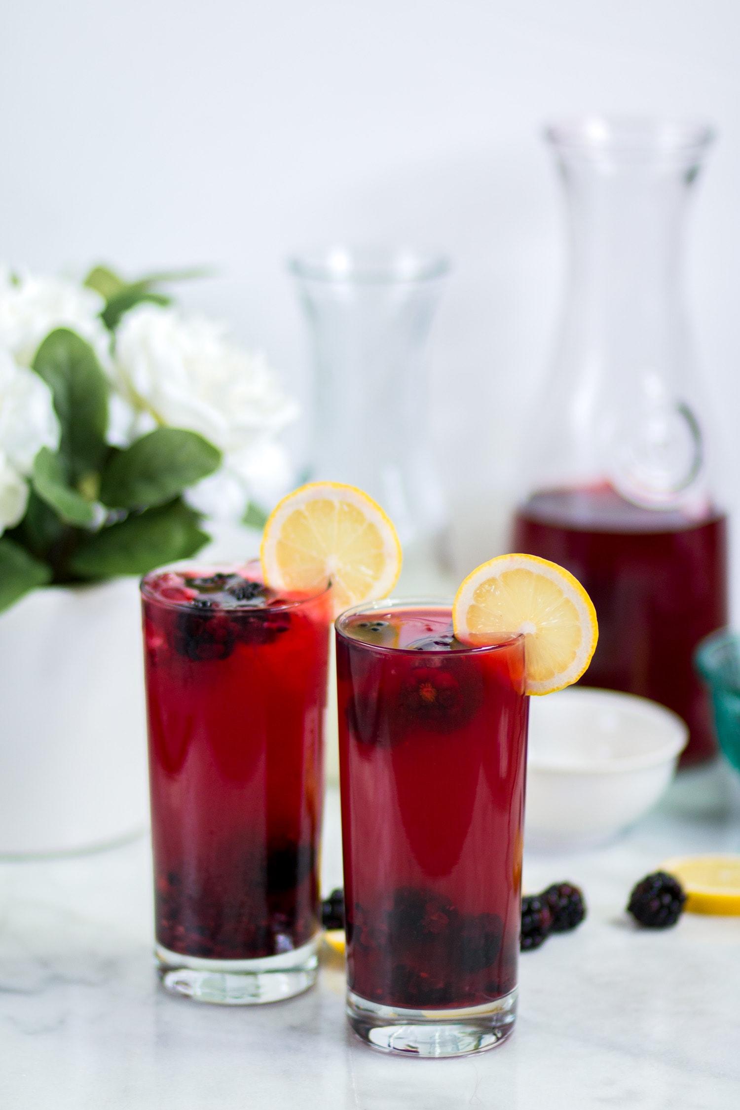 Blackberry Passion Tea Lemonade