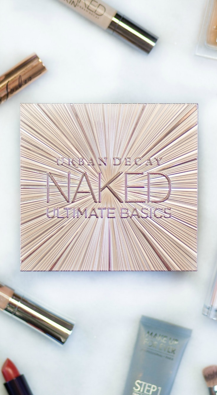 Urban Decay Naked Ultimate Basics palette is AMAZING. See a full review and swatches by beauty blogger Ashley Brooke Nicholas when you click through this pin.