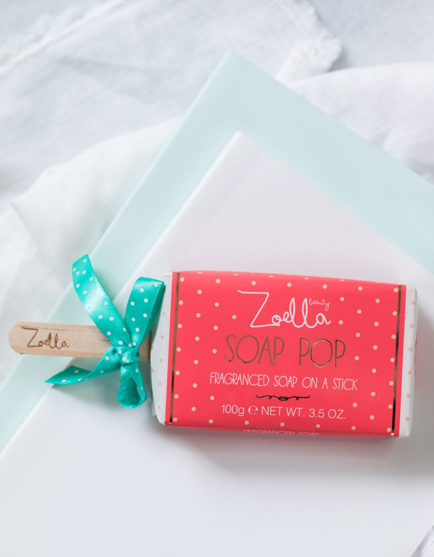 Zoella Beauty Soap Pop fragranced soap on a stick  | Review by beauty blogger Ashley Brooke Nicholas