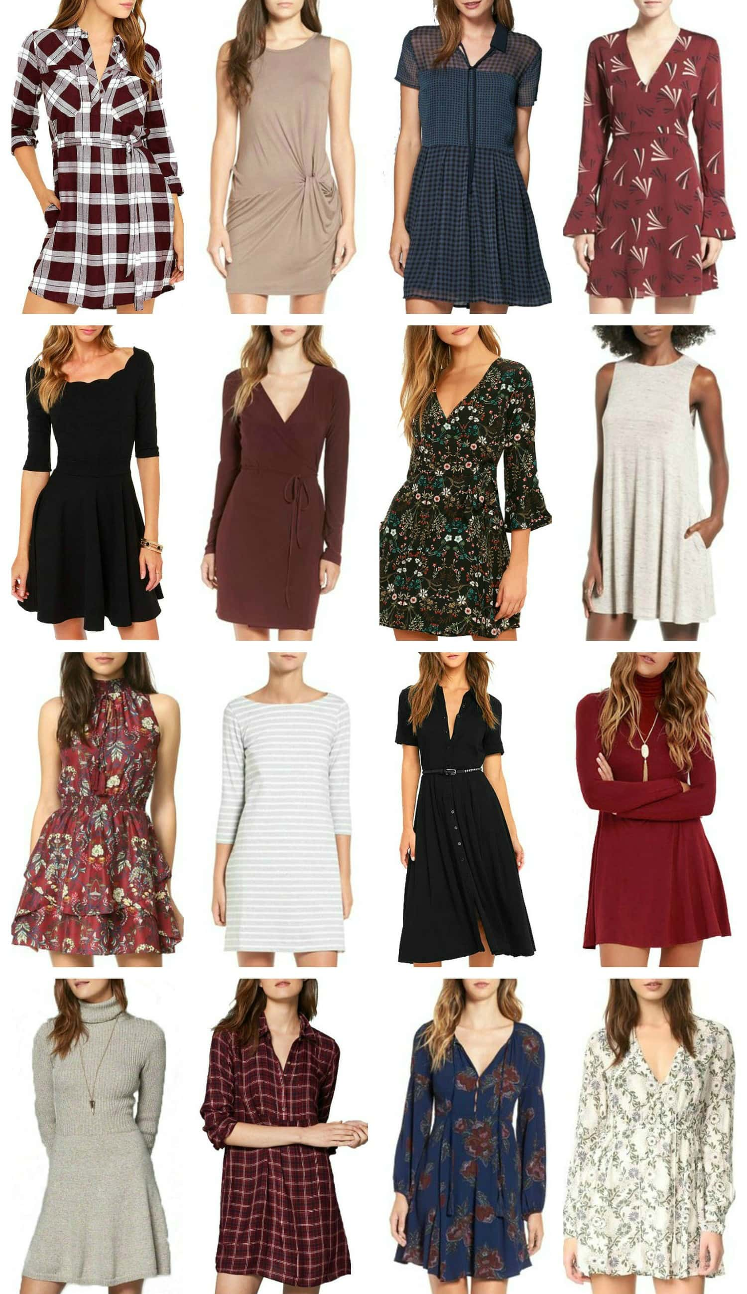 Casual Fall Dresses Under $100