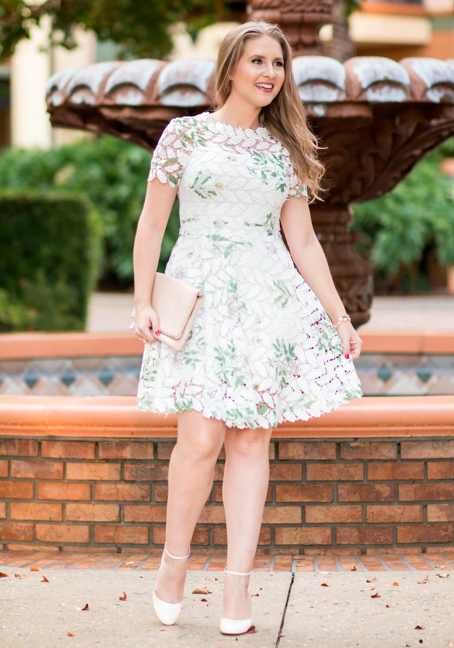 The White Lace Dress You Need This Season
