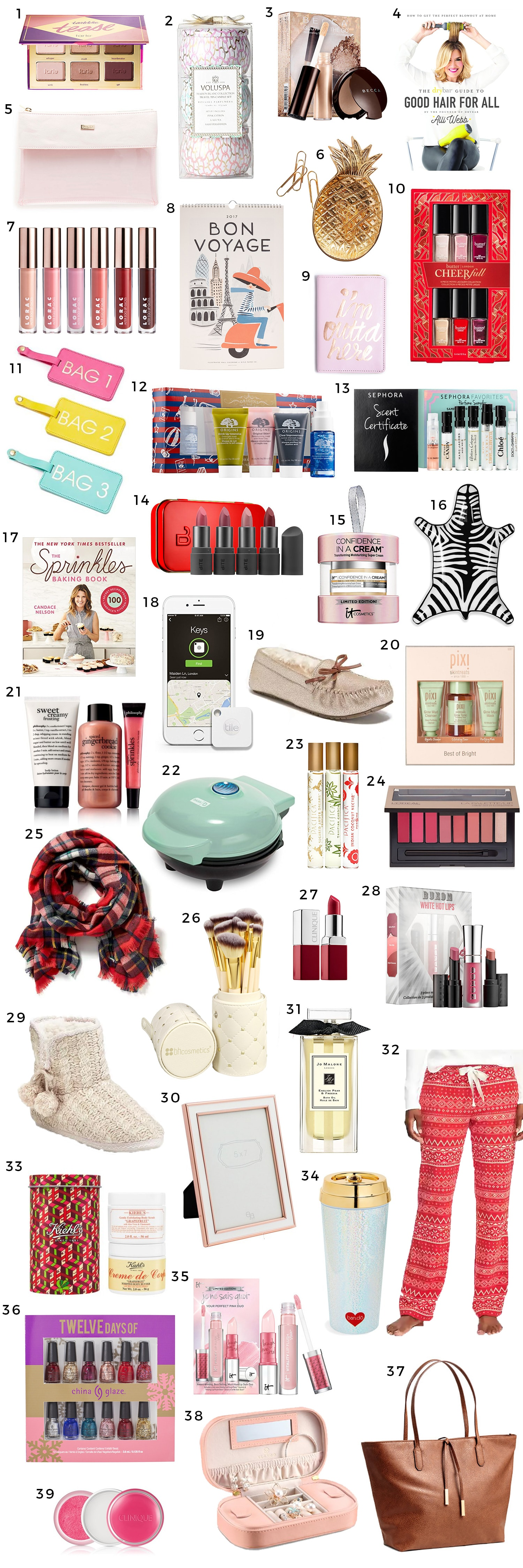 The Best Christmas Gift Ideas for Women under $25 | Ashley Brooke ...