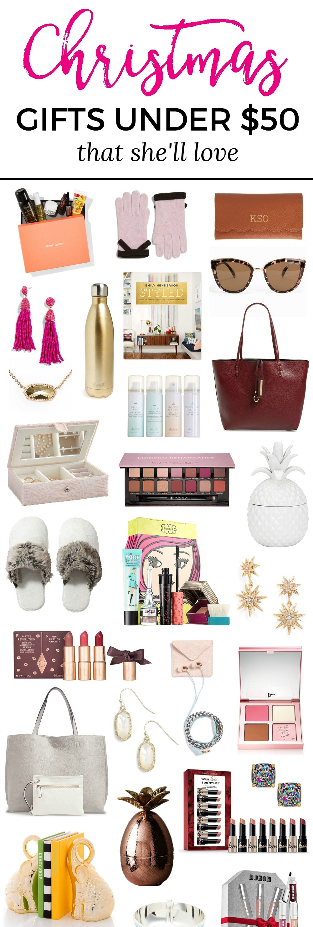 The best christmas gift ideas for women under 50 ashley Best christmas presents for her