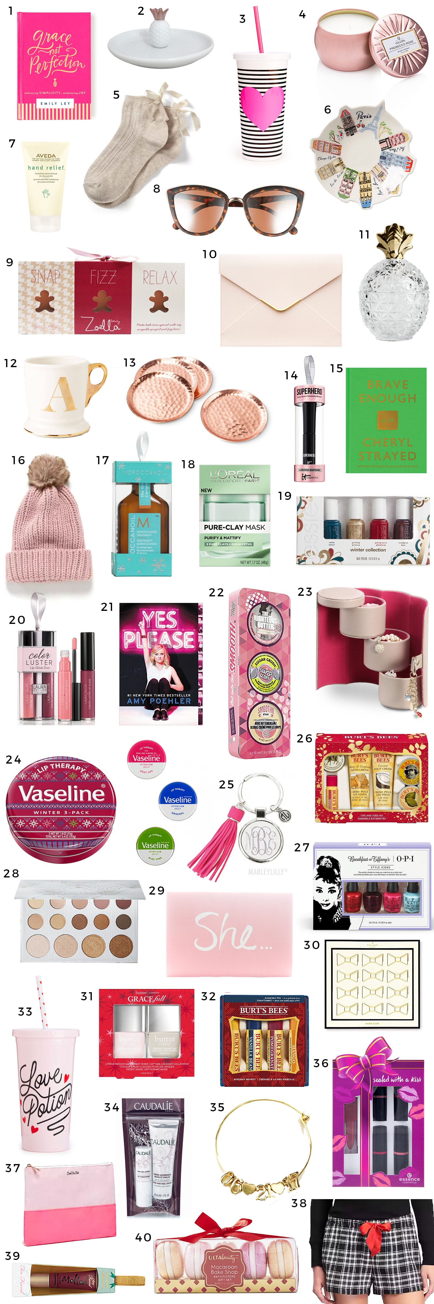 The Best Christmas Gift Ideas for Women Under $15 | Ashley Brooke ...