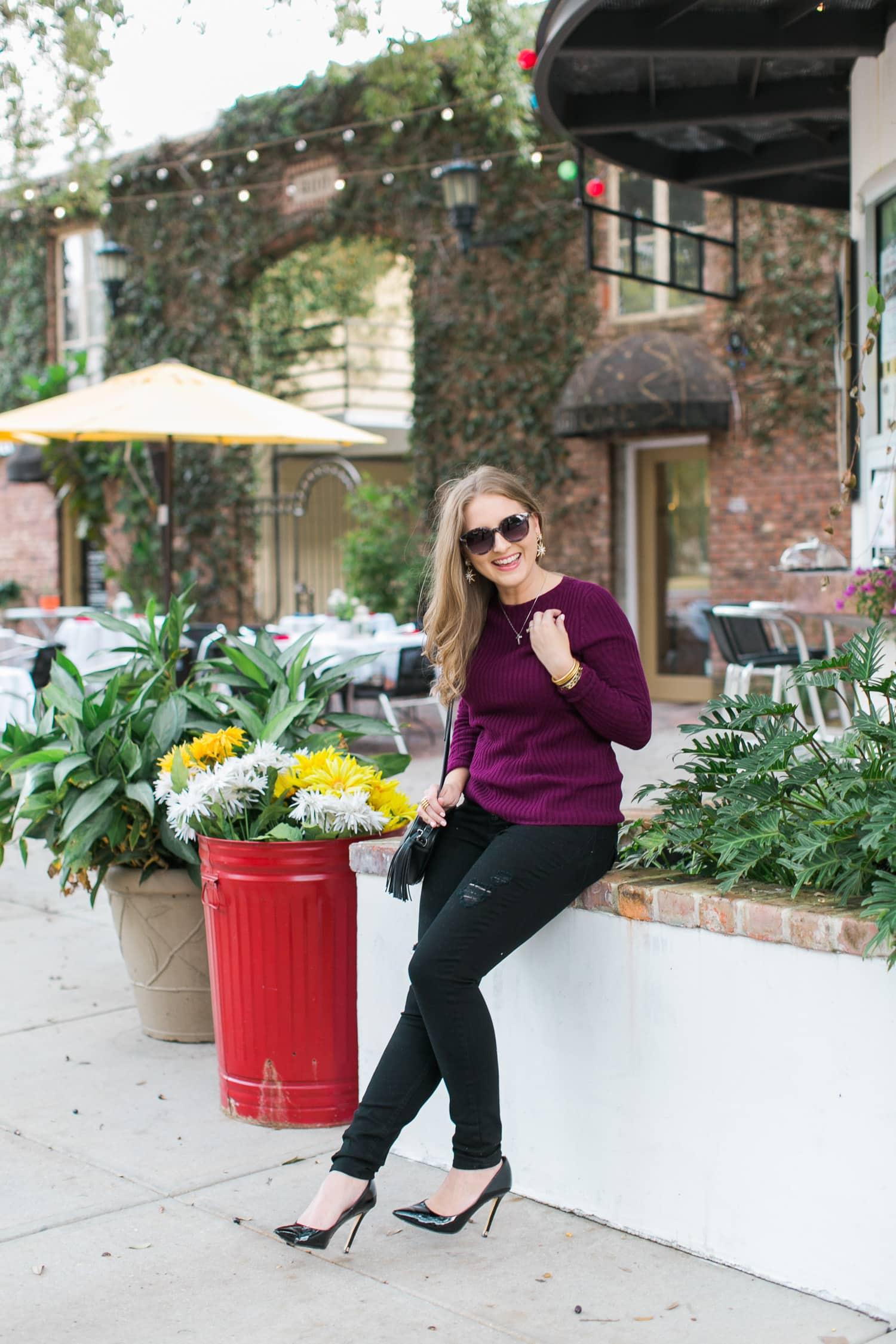 black-ripped-jeans-retro-round-sunglasses-burgundy-cashmere-sweater-black-pointy-toe-pumps-tassel-handbag-ashley-brooke-nicholas-047