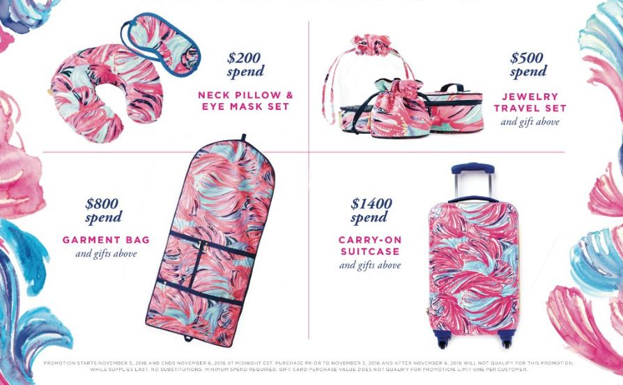 Lilly Pulitzer Gifts with Purchase + Fall 2016 Collection | Florida Beauty and Fashion Blogger Ashley