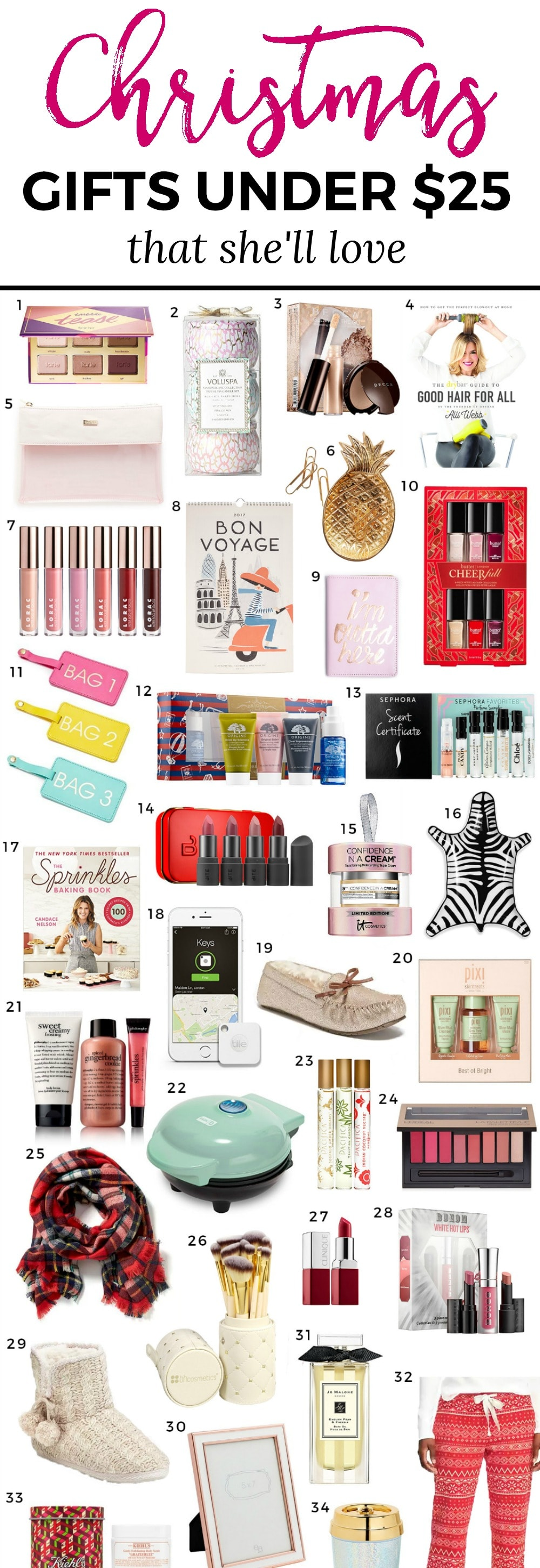 The Best Christmas Gift Ideas for Women under $25 | Ashley ...