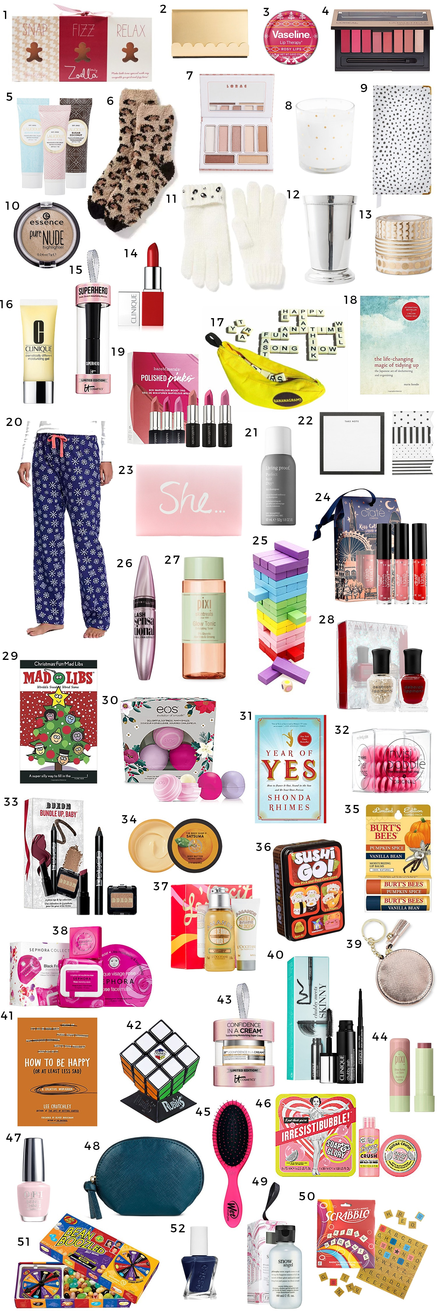 best christmas stocking stuffer ideas for women