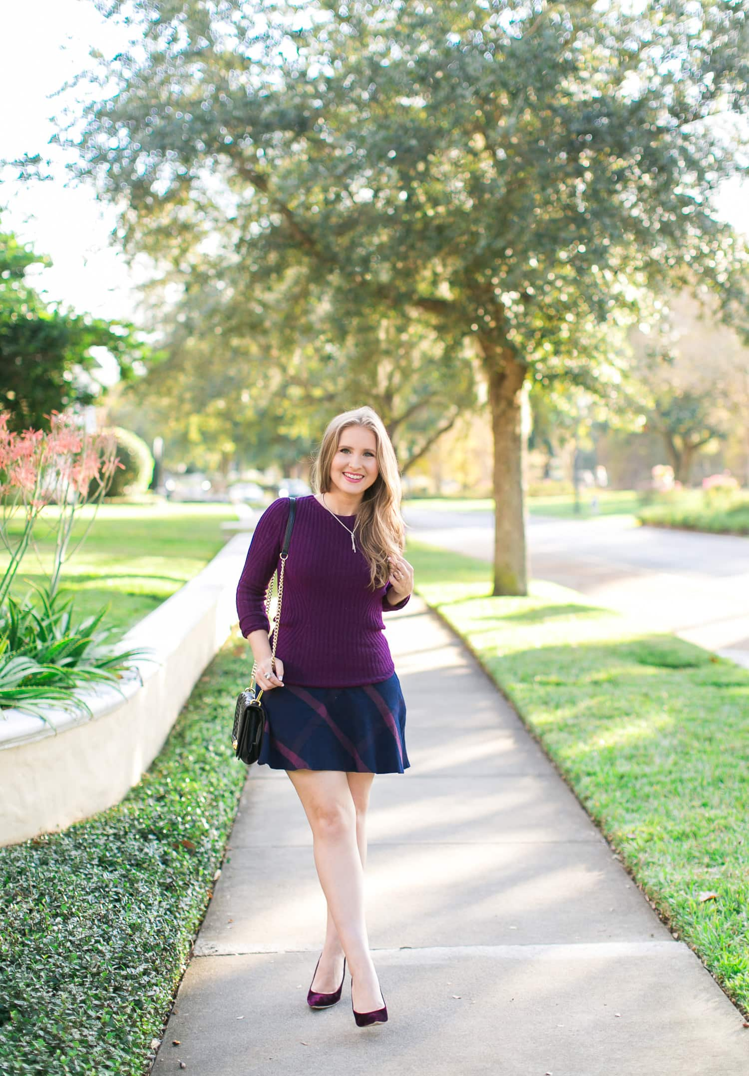 3 Easy Ways to Style a Sweater and Skirt | Ashley Brooke Nicholas ...