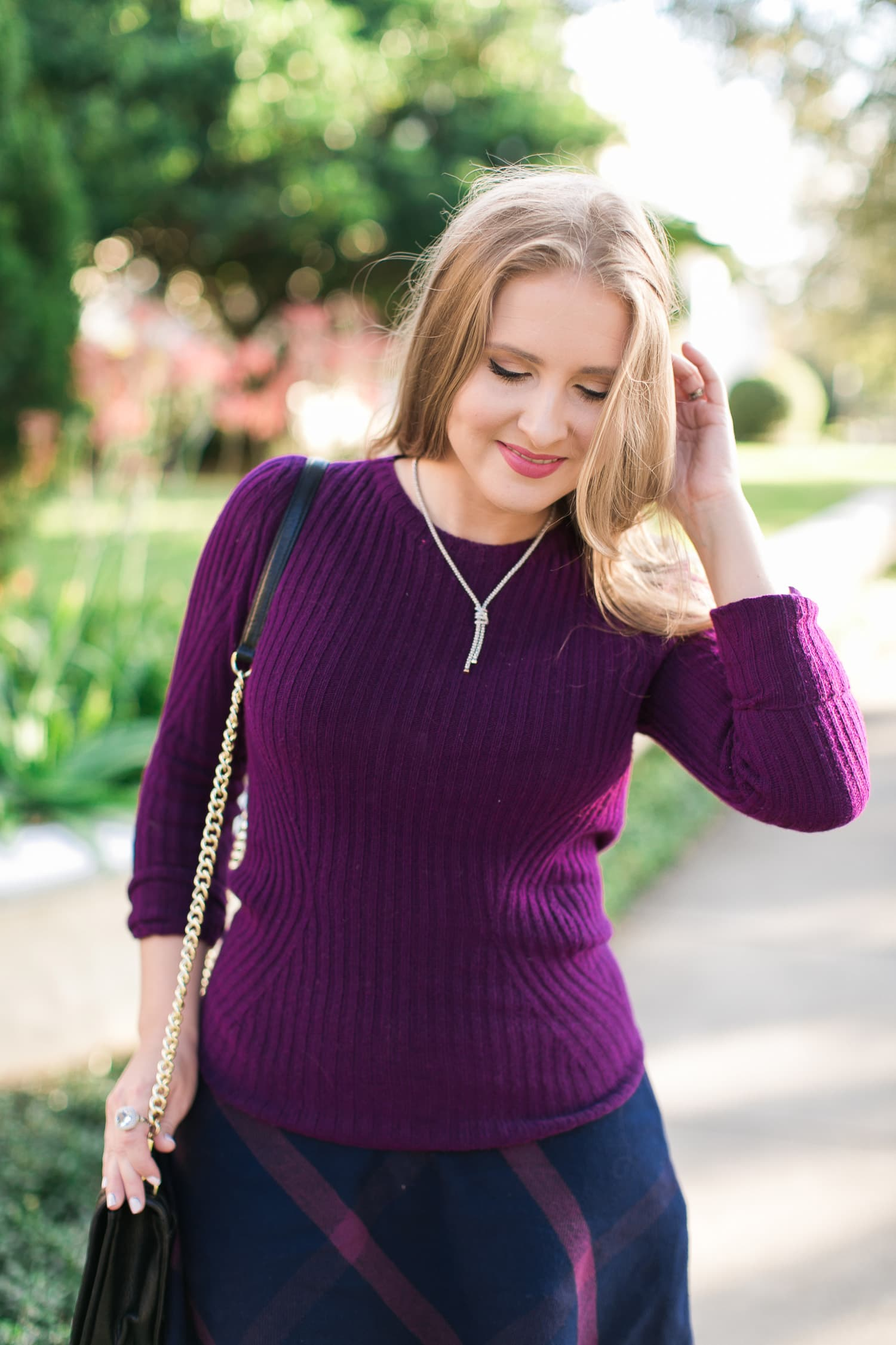 3 Easy Ways to Style a Sweater and Skirt | Ashley Brooke Nicholas