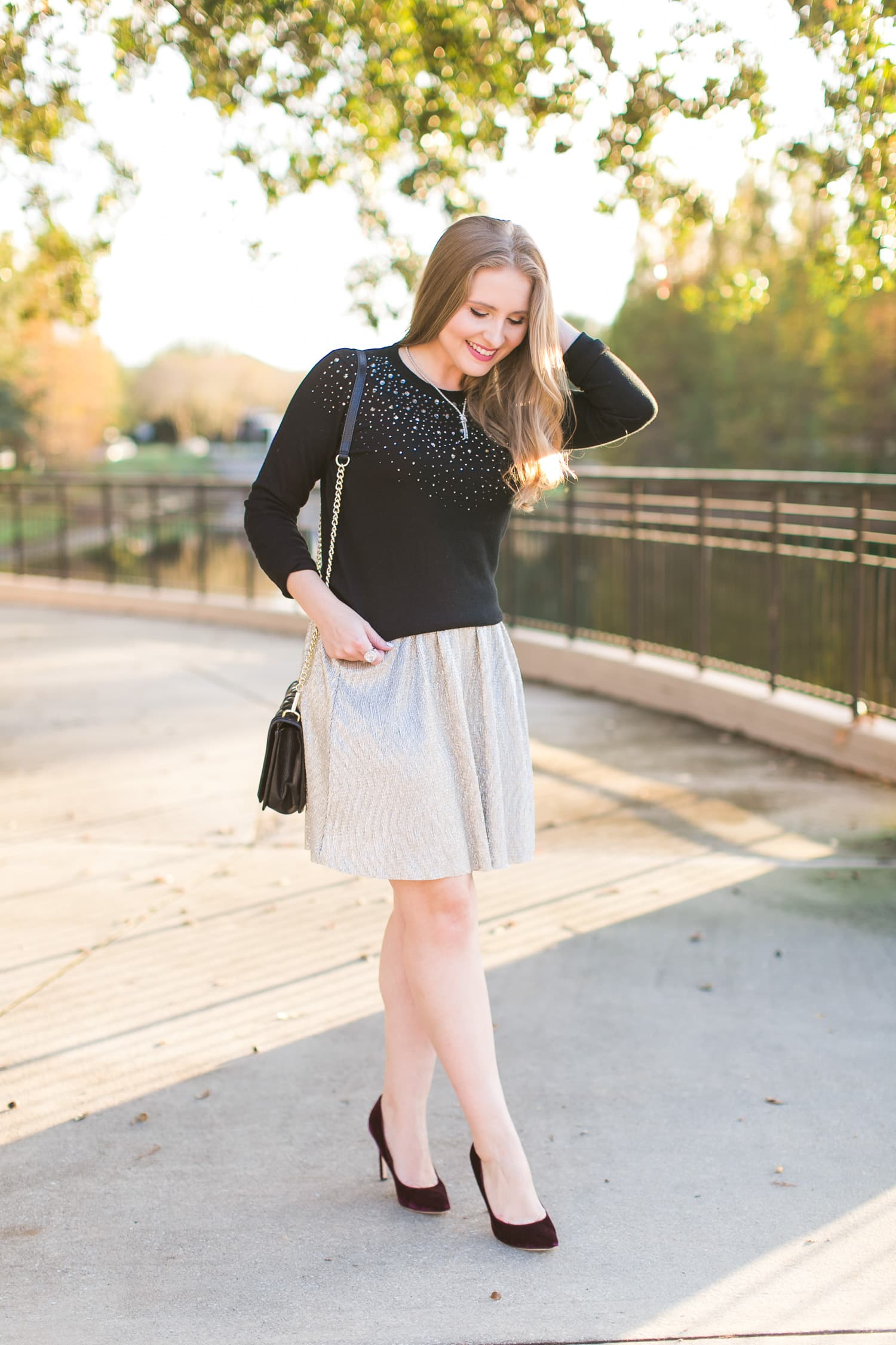 3 Easy Ways to Style a Sweater and Skirt