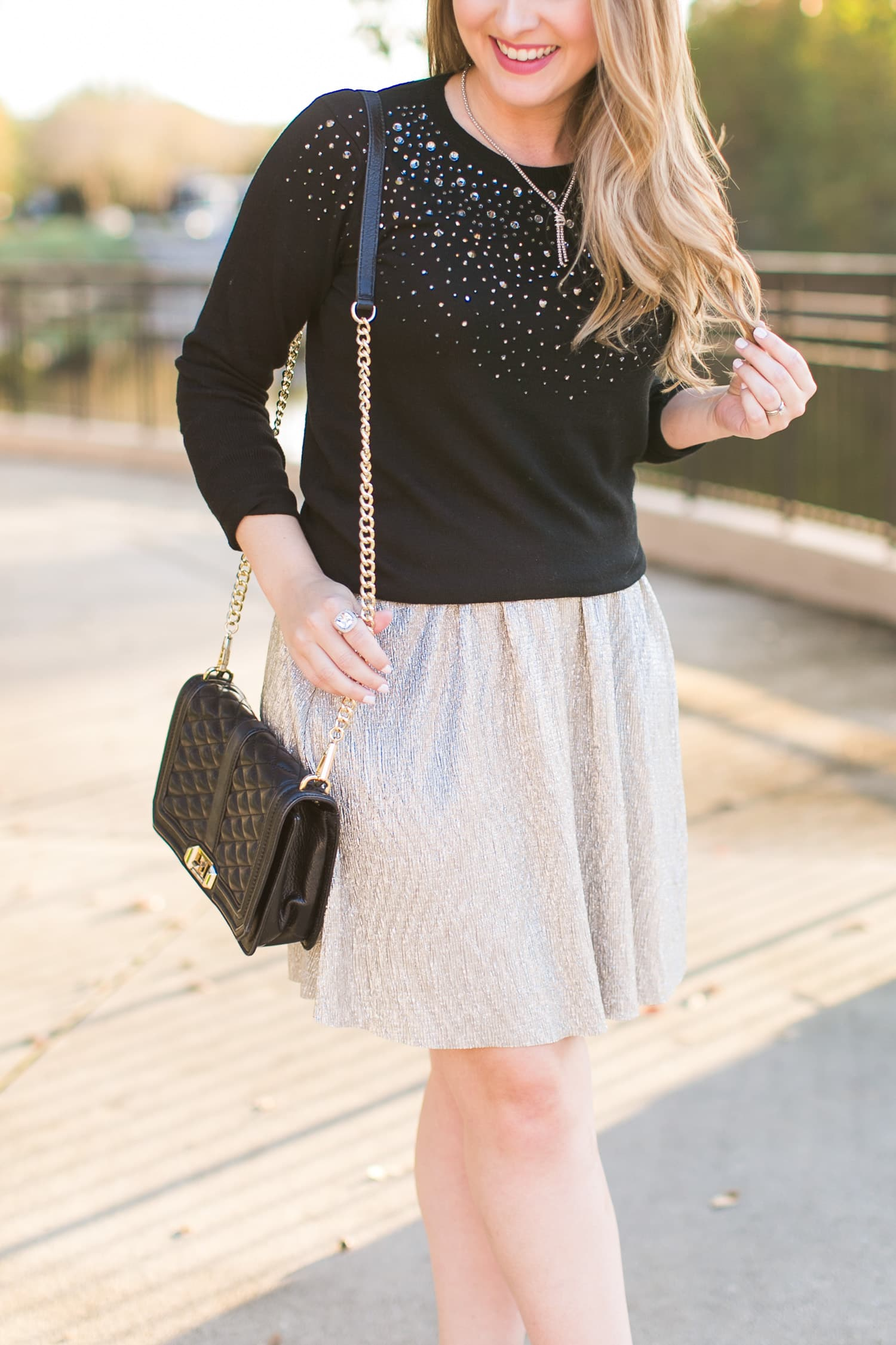 3 Easy Ways To Style A Sweater And Skirt Ashley Brooke