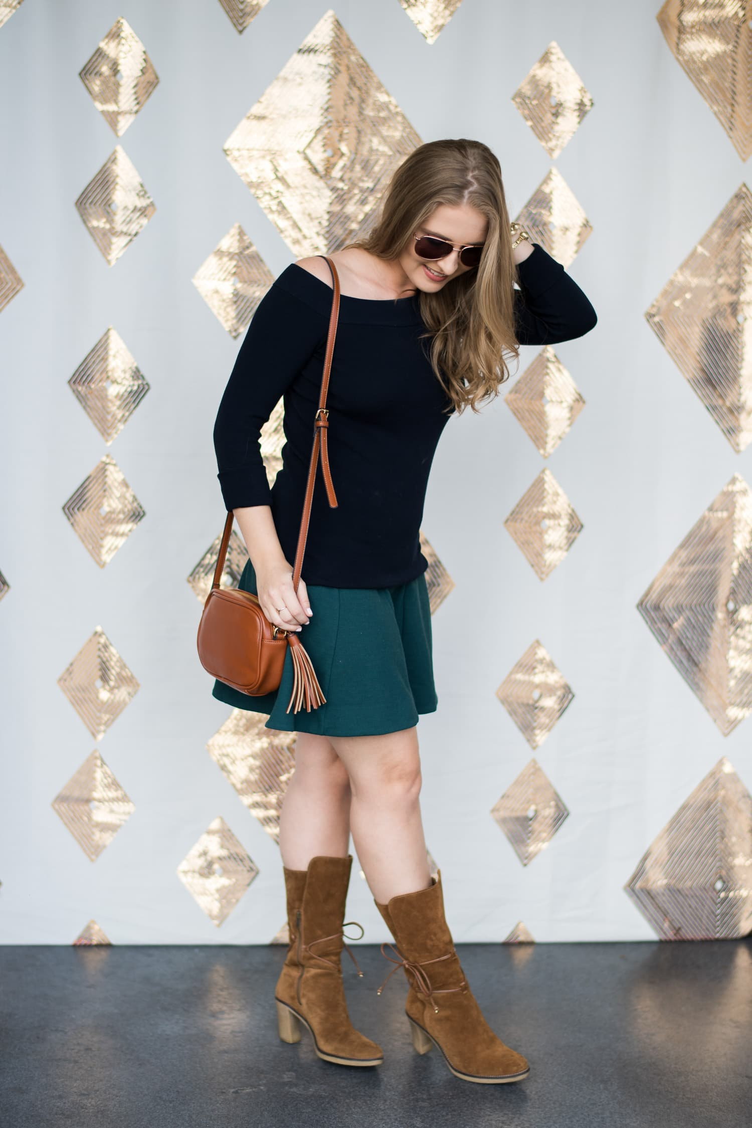 casual-fall-outfit-brown-suede-boots-foster-grant-opening-orlando-3223