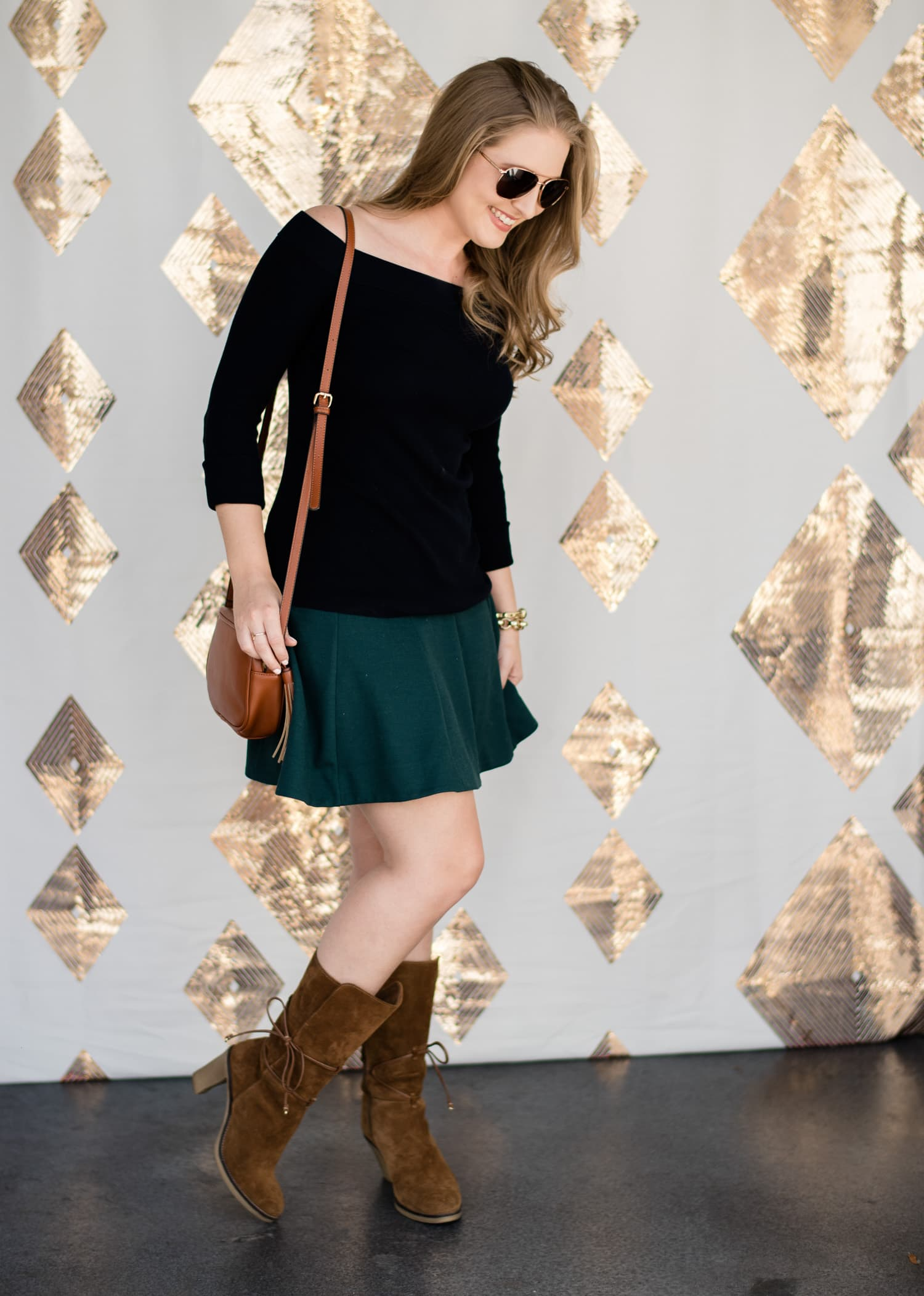 casual-fall-outfit-brown-suede-boots-foster-grant-opening-orlando-3270-2