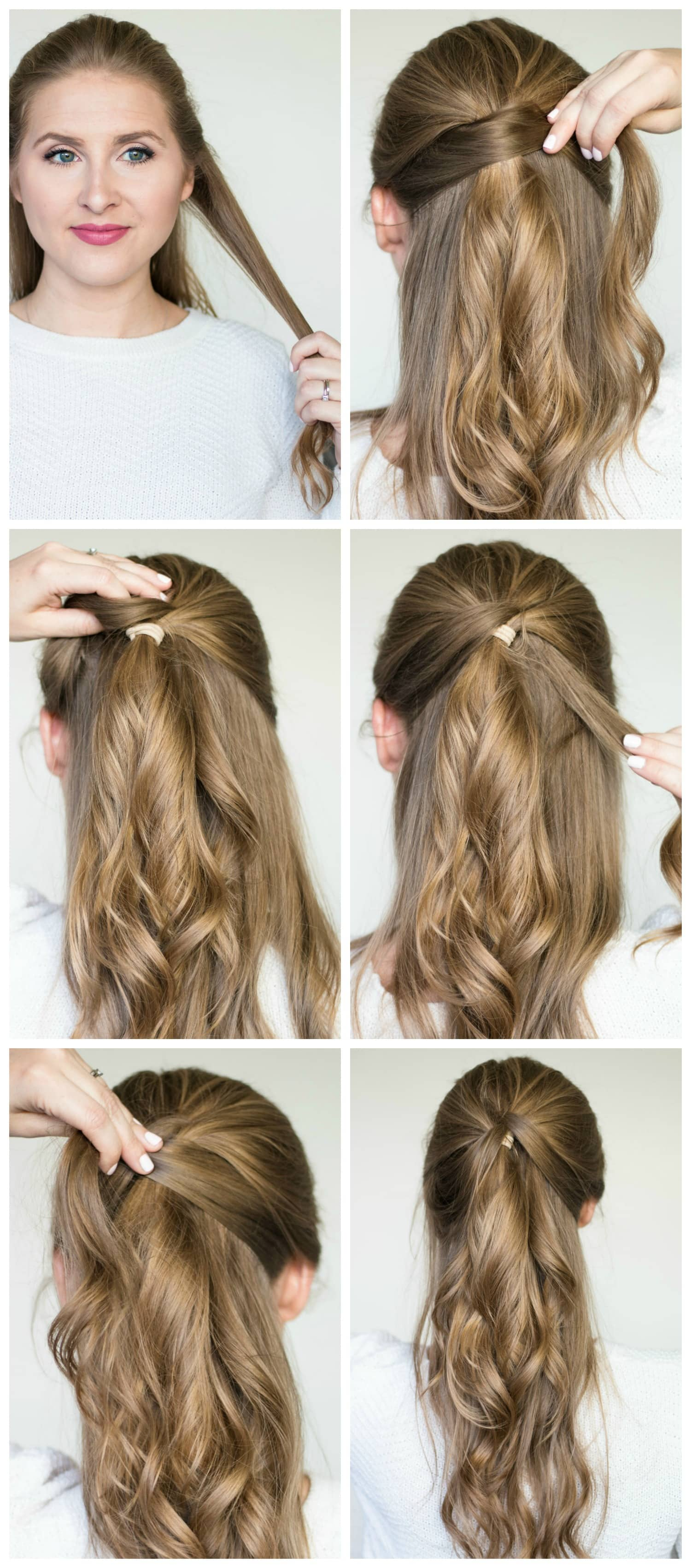 Quick & Easy Hairstyle Tutorials + Best Shampoo & Conditioner for Dry Hair