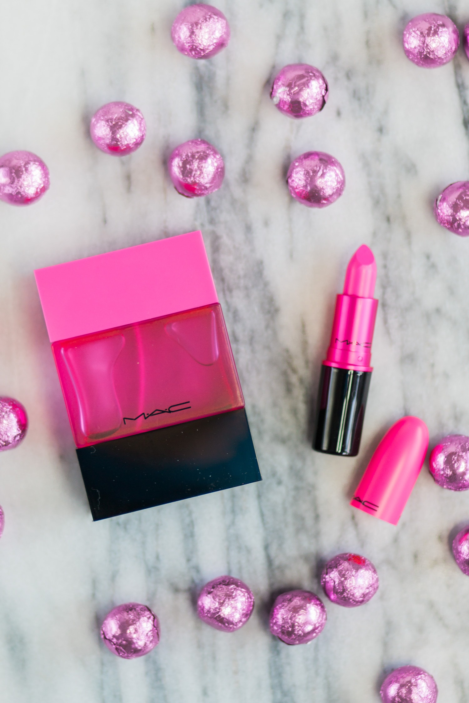 A full review of the MAC Shadescents Candy Yum Yum perfume and lipstick by Orlando, Florida, beauty blogger Ashley Brooke Nicholas
