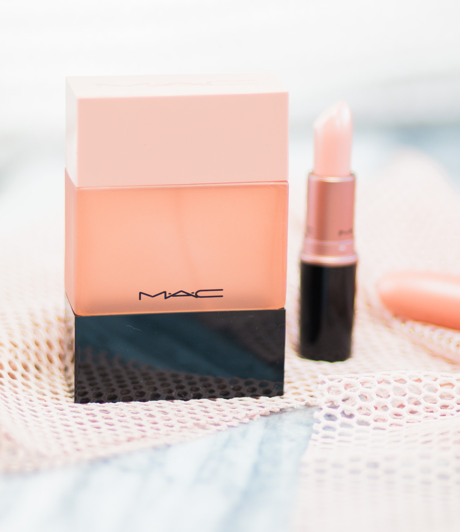 A full review of the MAC Shadescents Creme D'Nude perfume and lipstick by Orlando, Florida, beauty blogger Ashley Brooke Nicholas