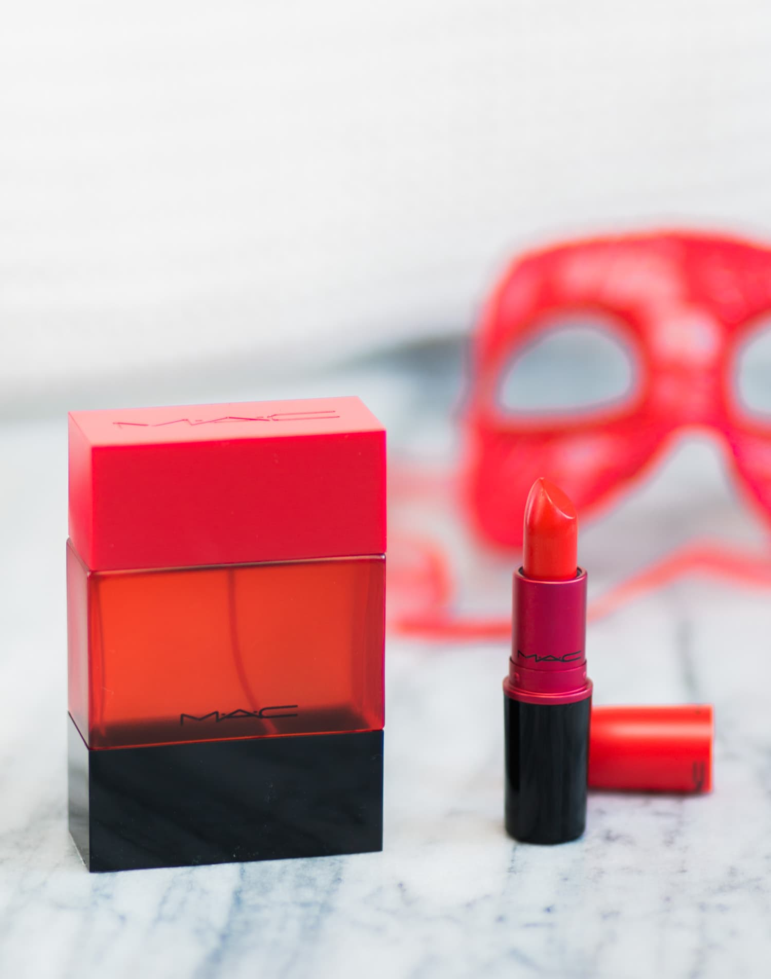 A full review of the MAC Shadescents Lady Danger perfume and lipstick by Orlando, Florida, beauty blogger Ashley Brooke Nicholas
