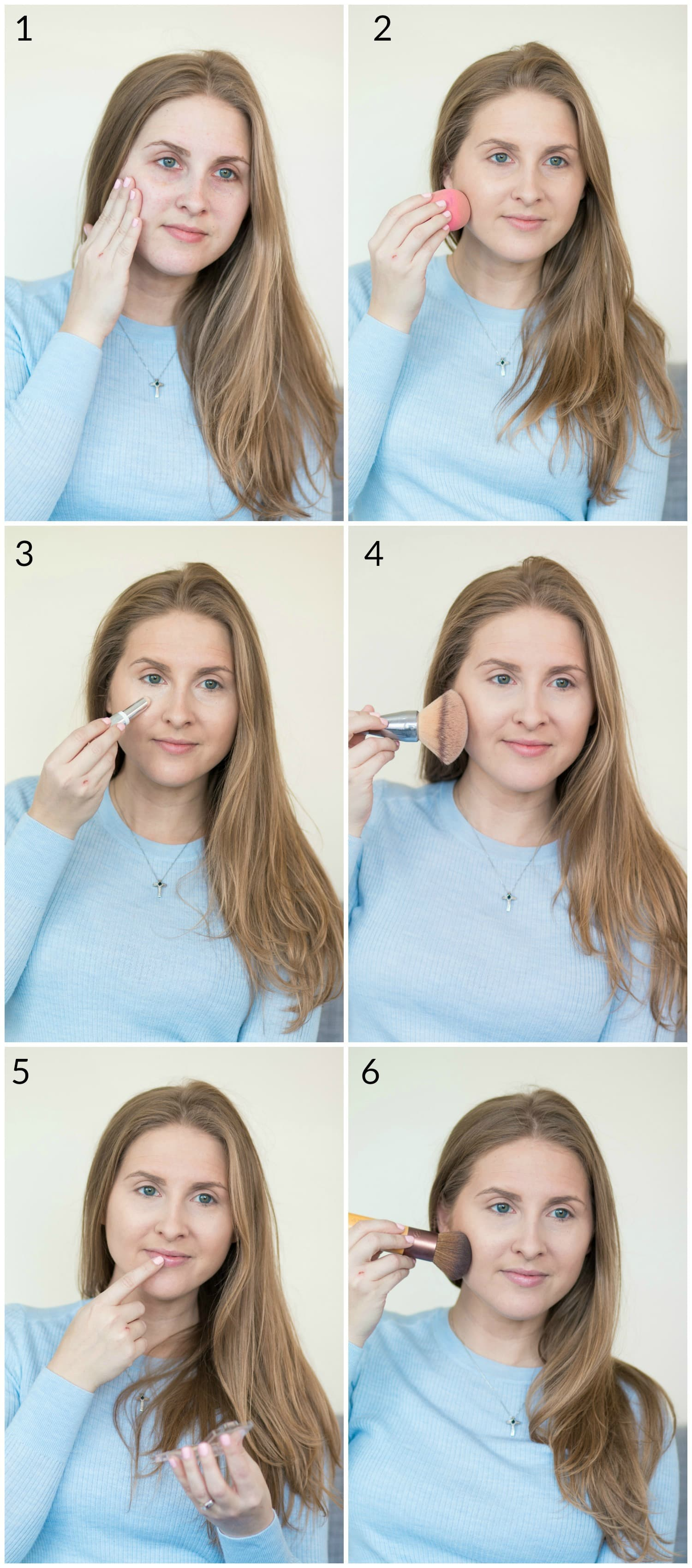 Five Minute Makeup Routine Ashley Brooke Nicholas
