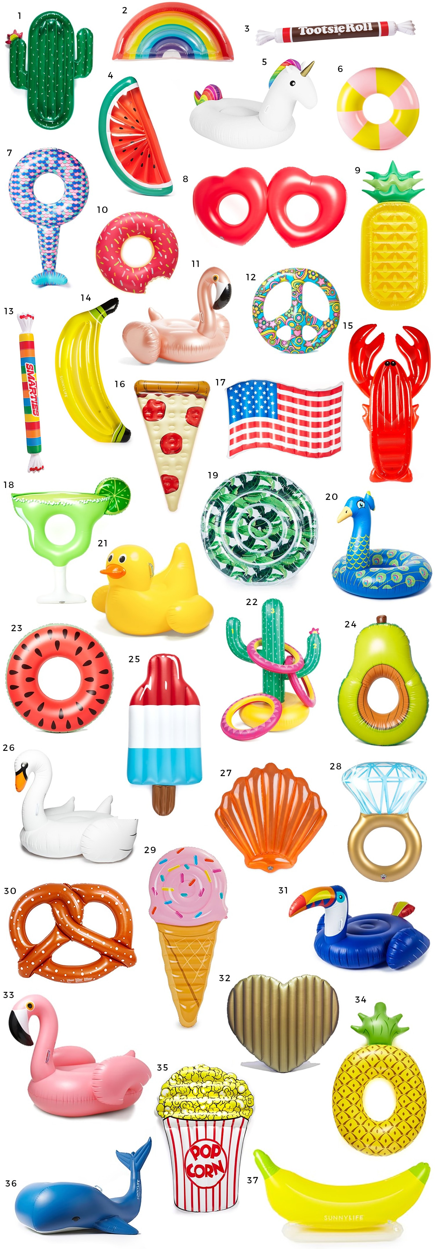 The Best Pool Floats for Vacation