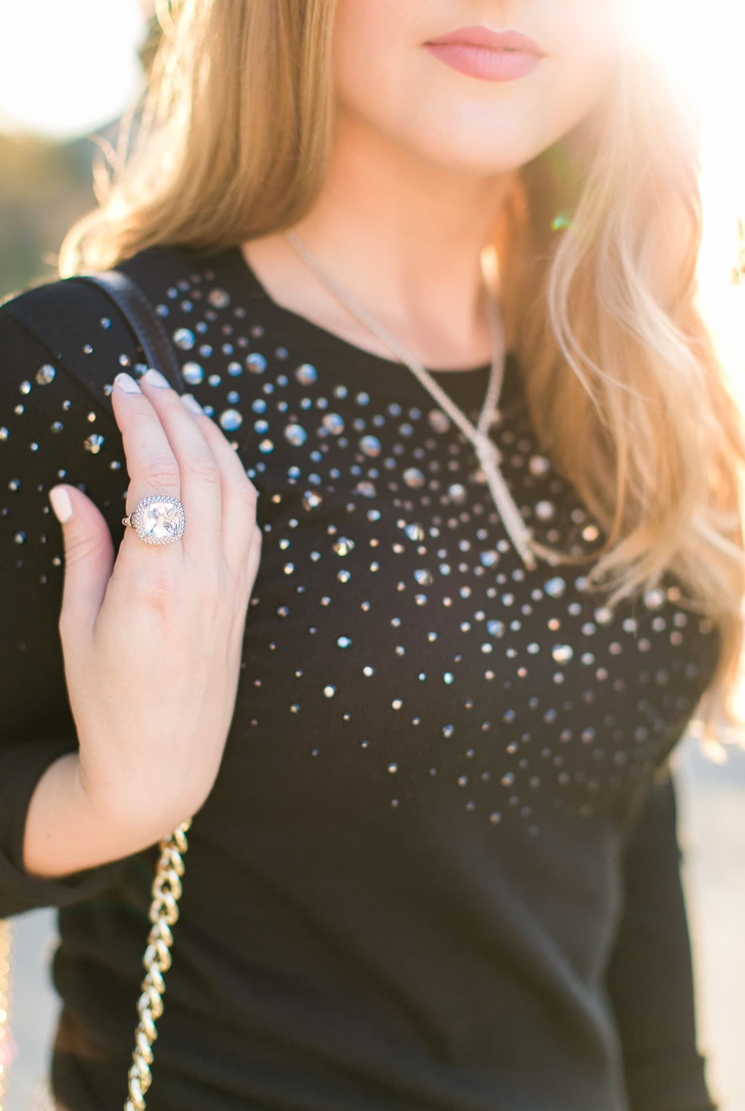philip havriel ring date night sunset golden hour outfit