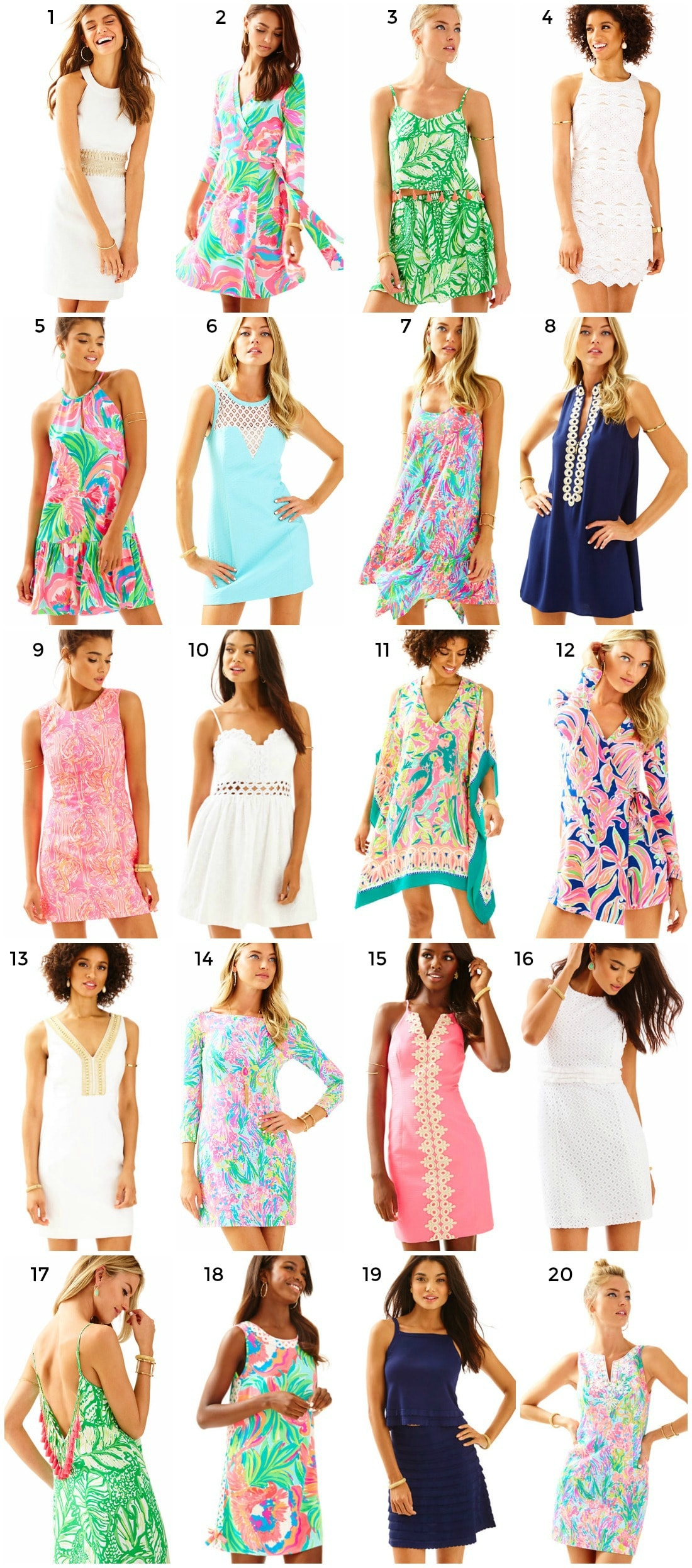 Lilly Pulitzer Spring Collection + New Arrivals + Cutest Lilly Pulitzer Dresses | Florida Style Blogger Ashley Brooke Nicholas