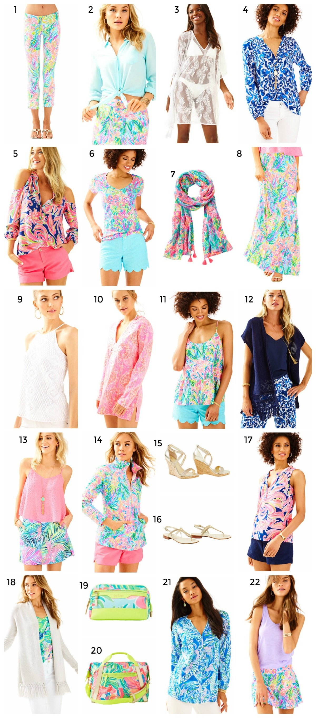 Lilly Pulitzer Spring Collection + New Arrivals + Cutest Lilly Pulitzer Shirts | Florida Style Blogger Ashley Brooke Nicholas