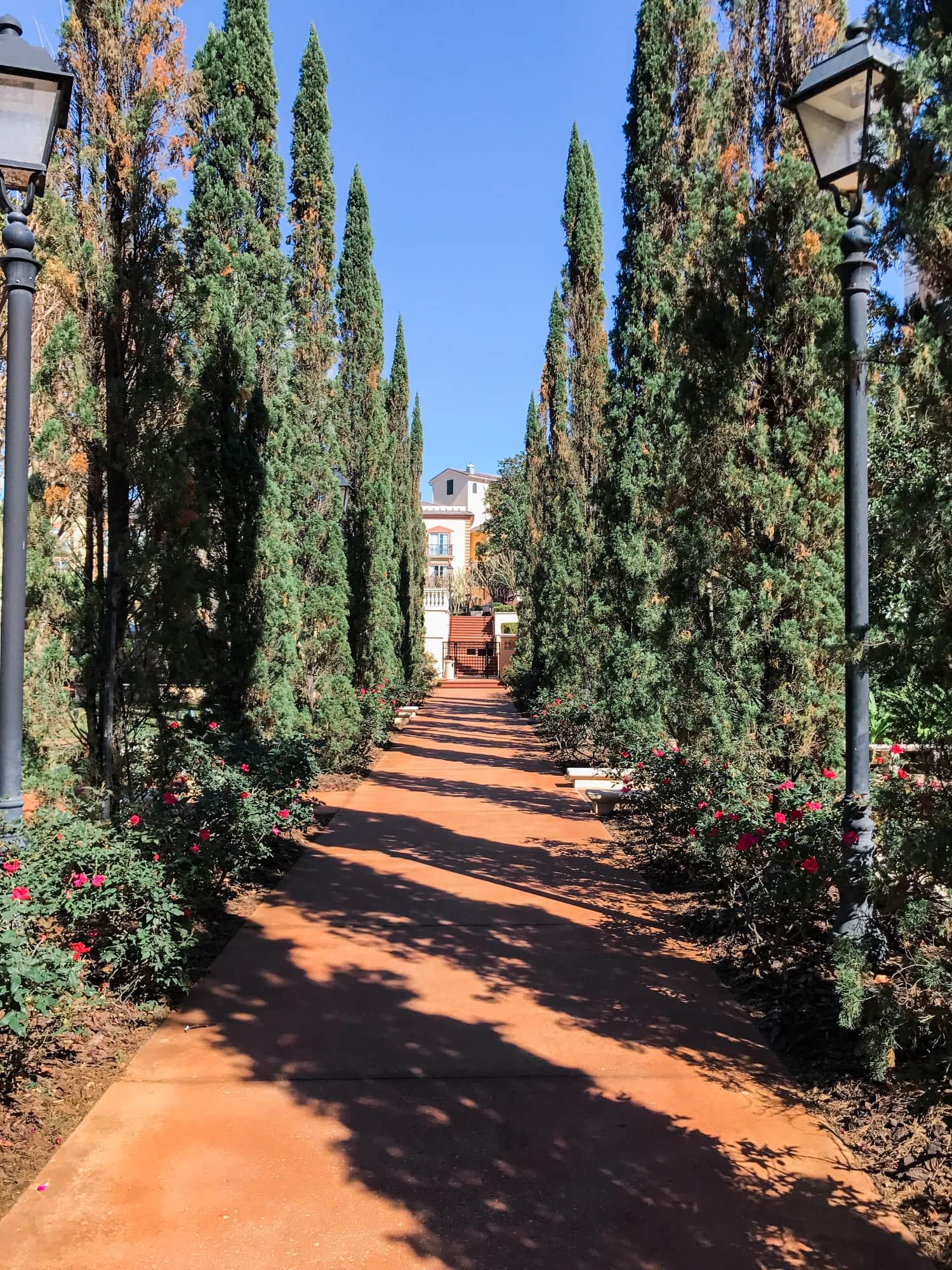 Portofino Bay hotel views Orlando Universal resort review