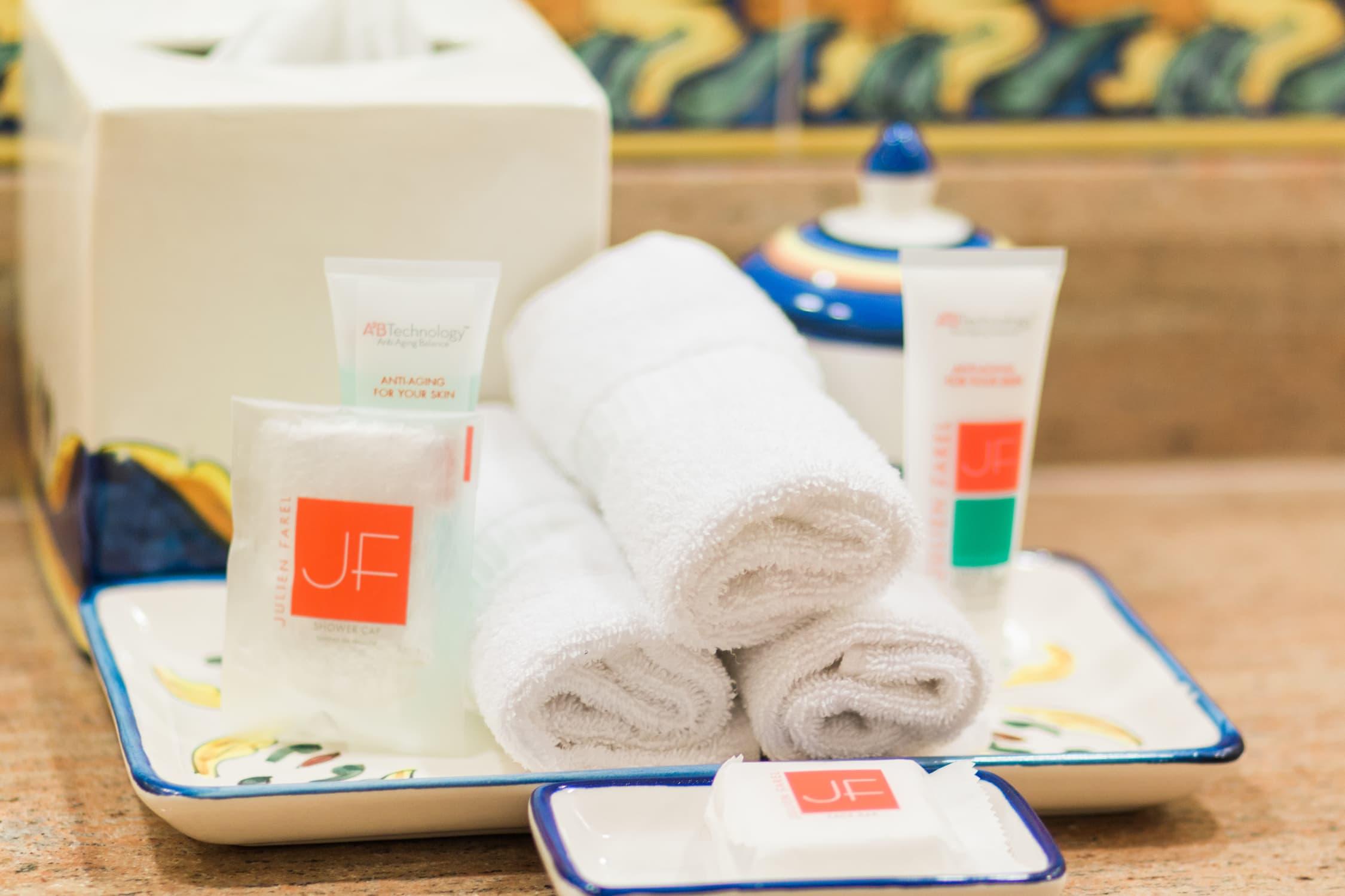 Beauty products Portofino Bay Hotel Universal Orlando vacation