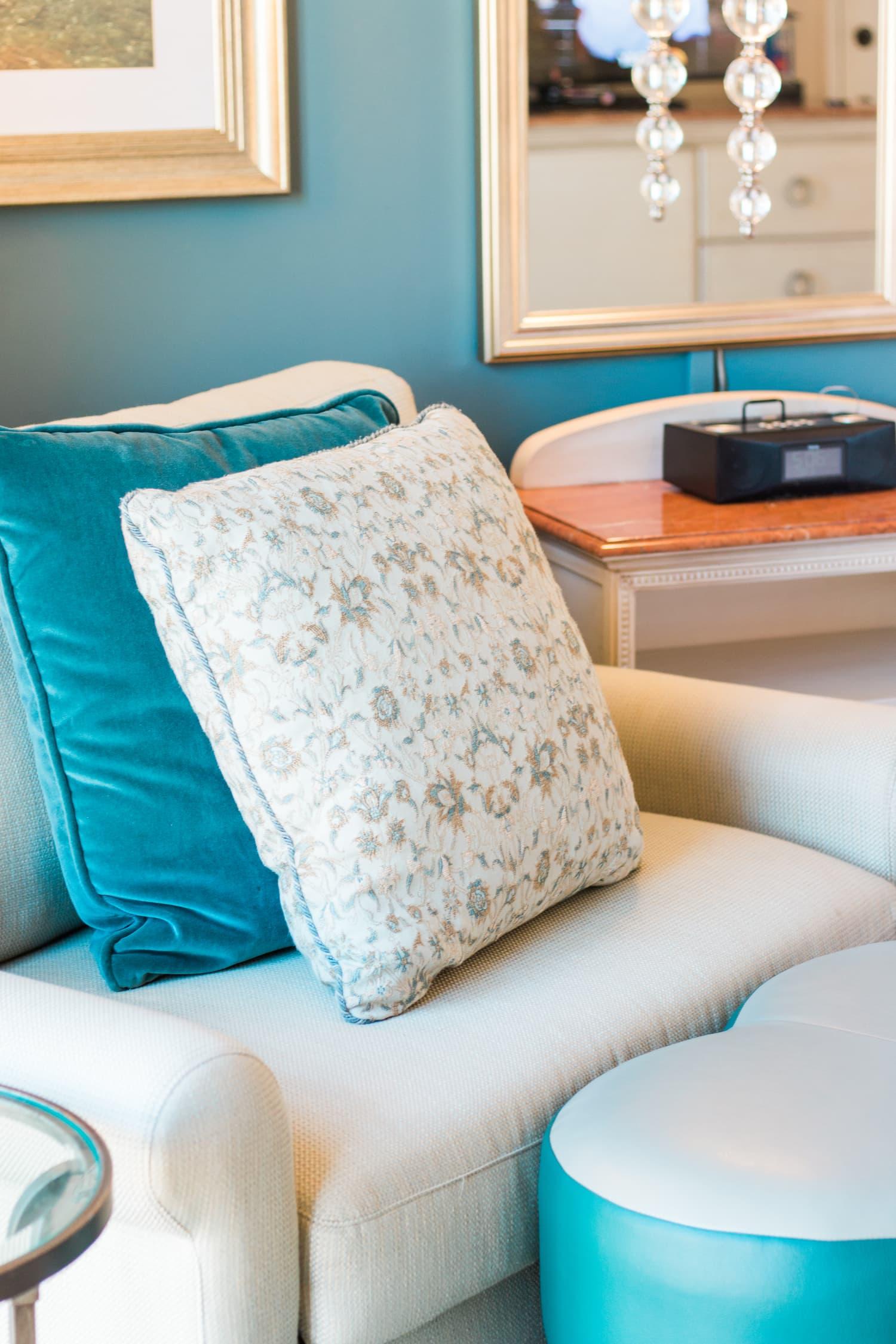 Room at Loews Portofino Bay Hotel in Orlando Florida at Universal