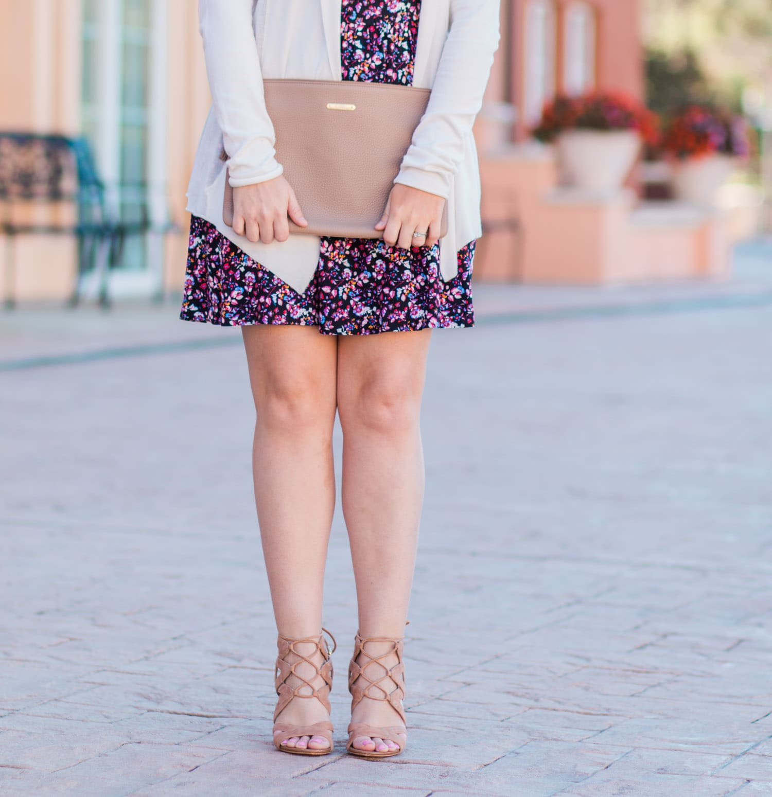 Spring Floral Fashion Outfit