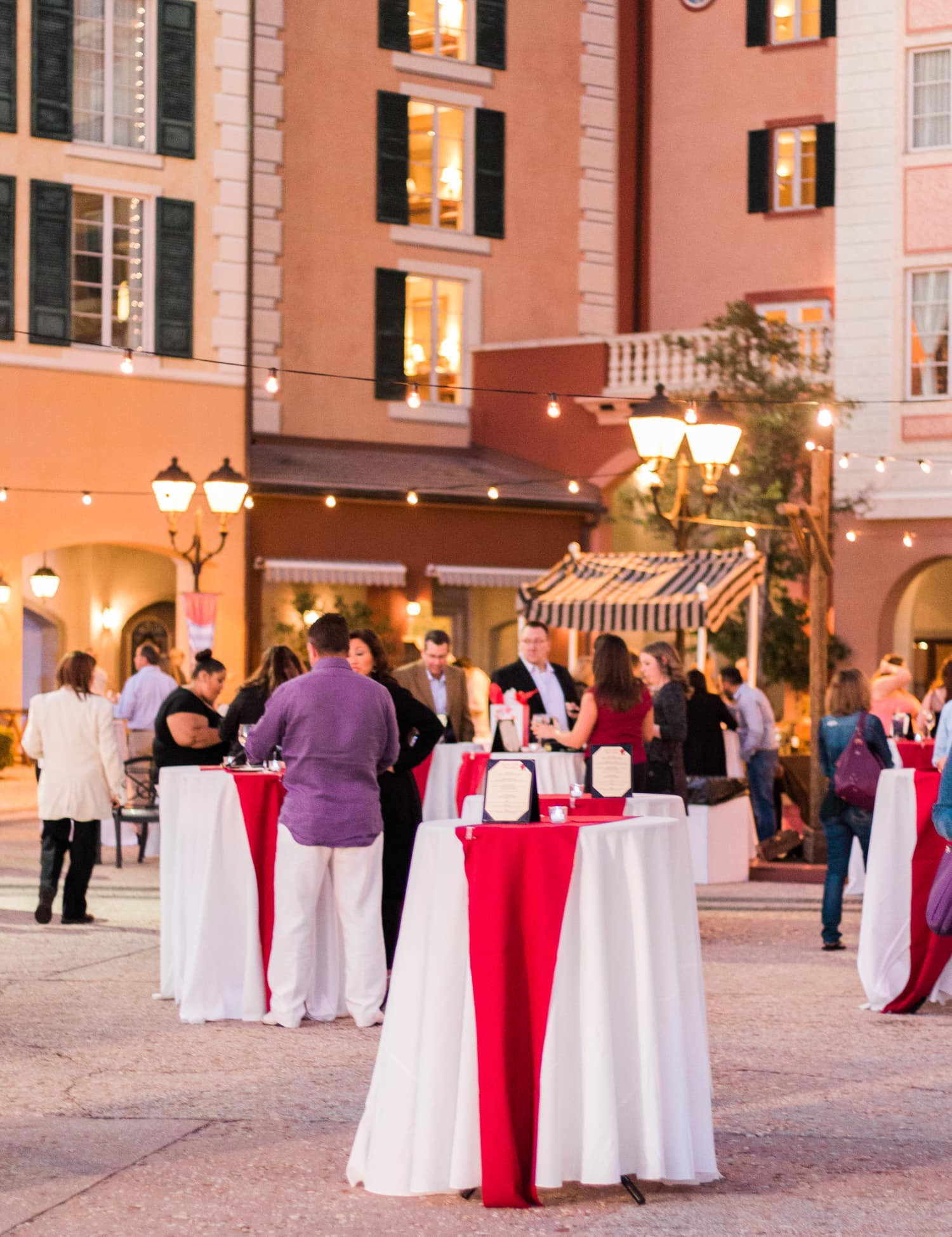 fancy dinner loews portofino bay hotel
