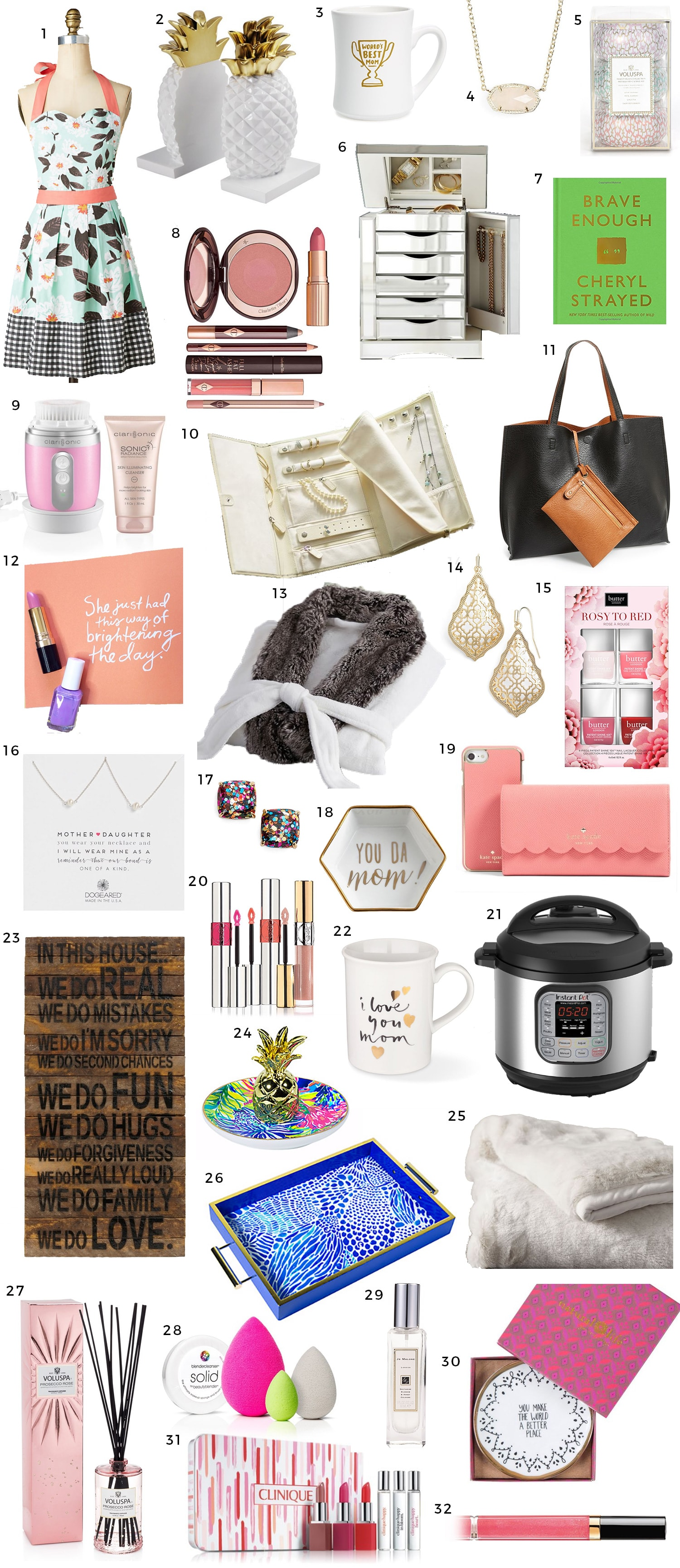 The best Mother's Day gift ideas in every price range | gifts that she'll love under $100, under $50, and under $25 | gift ideas for women, best gifts for women