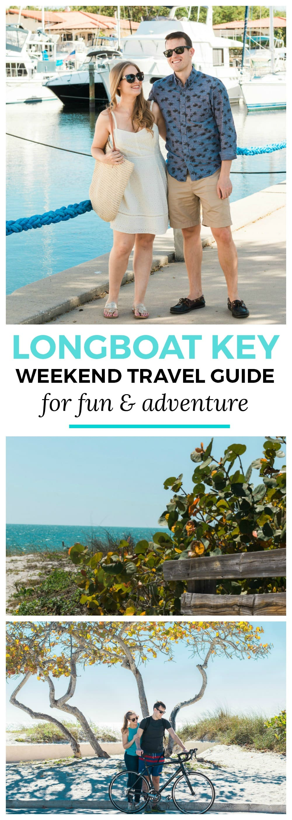 How to plan an adventurous weekend getaway in Longboat Key, Florida including a day of boating! #LoveFL sponsored by @visitflorida | Florida travel tips, beach vacation, vacation ideas, vacation goals, travel blogger Ashley Brooke Nicholas, Florida travel guide, Longboat Key travel guide, Sarasota travel guide, beautiful beaches, boating, affordable travel, US travel, summer vacation, spring break ideas