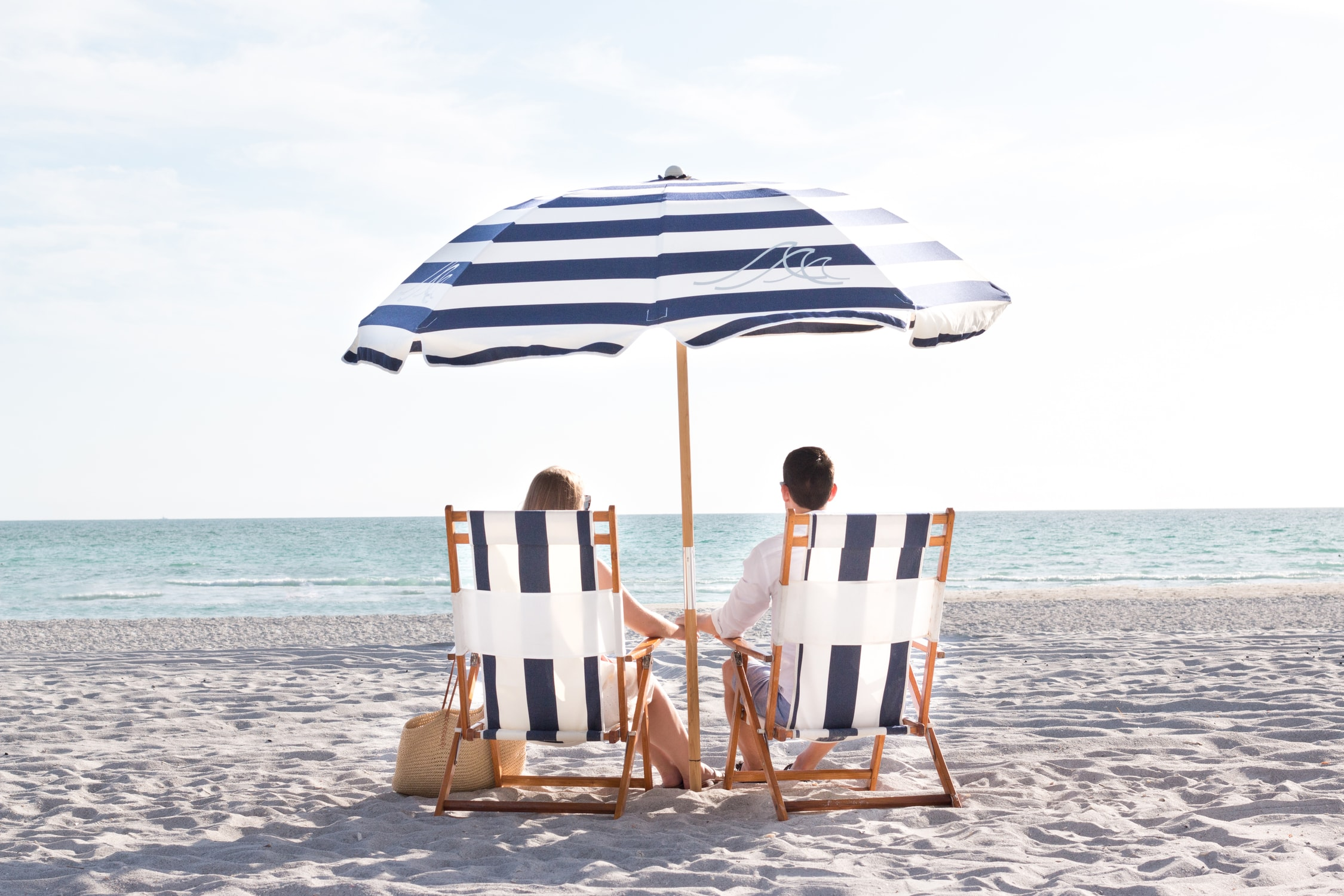 How to plan a romantic weekend getaway in Longboat Key, Florida, including a relaxing stay at The Resort at Longboat Key Club! #LoveFL sponsored by @visitflorida | Private beach outside of The Resort at Longboat Key Club | Florida travel tips, beach vacation, vacation ideas, vacation goals, travel blogger Ashley Brooke Nicholas, Florida travel guide, Longboat Key travel guide, Sarasota travel guide, beautiful beaches, boating, affordable travel, US travel, summer vacation, spring break ideas, romantic vacation