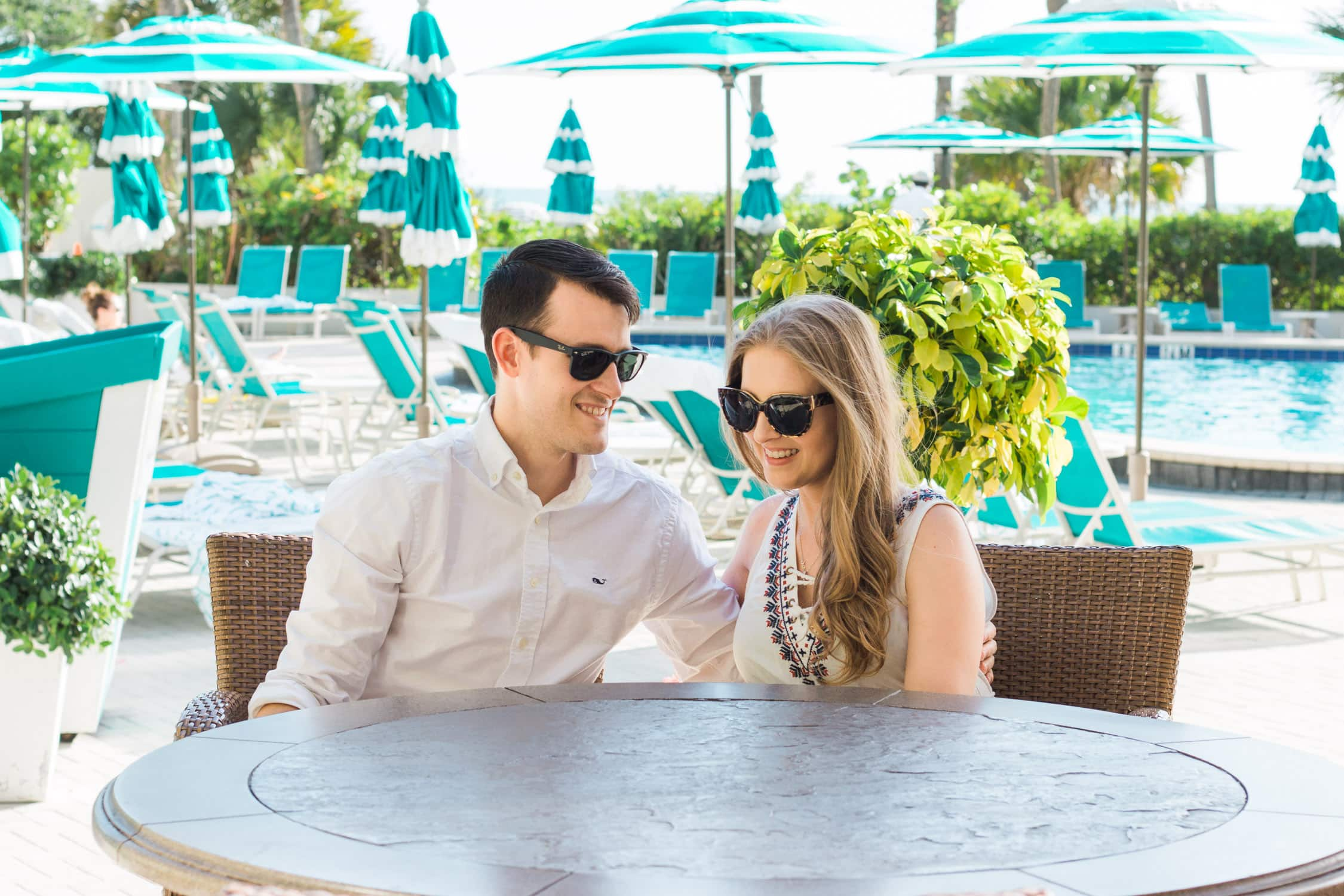 How to plan a romantic weekend getaway in Longboat Key, Florida, including a relaxing stay at The Resort at Longboat Key Club! #LoveFL sponsored by @visitflorida | day at the pool at The Resort at Longboat Key Club | Florida travel tips, beach vacation, vacation ideas, vacation goals, travel blogger Ashley Brooke Nicholas, Florida travel guide, Longboat Key travel guide, Sarasota travel guide, beautiful beaches, boating, affordable travel, US travel, summer vacation, spring break ideas, romantic vacation