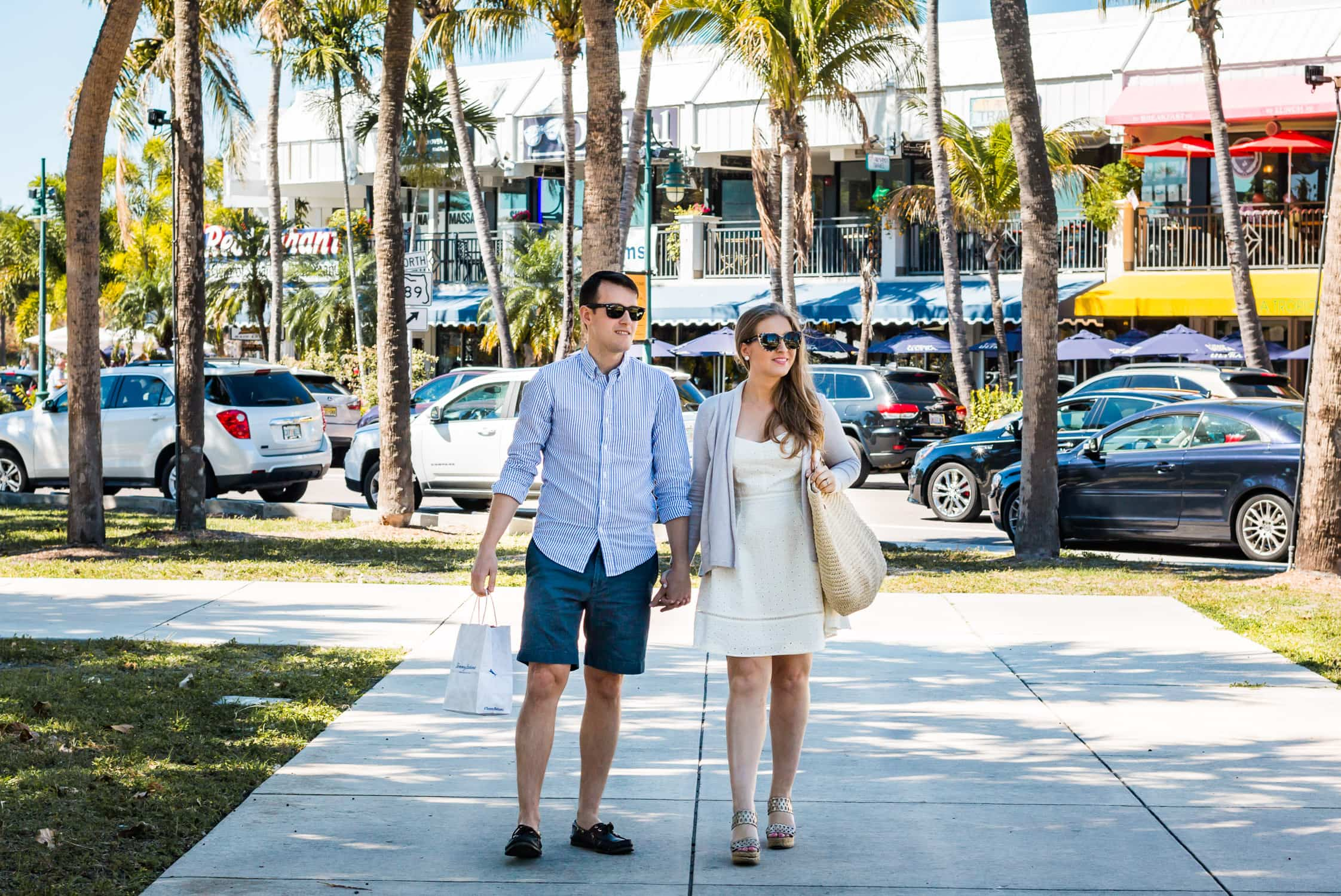 How to plan a romantic weekend getaway in Longboat Key, Florida, including a relaxing stay at The Resort at Longboat Key Club! #LoveFL sponsored by @visitflorida | Shopping at St. Armands Circle | Florida travel tips, beach vacation, vacation ideas, vacation goals, travel blogger Ashley Brooke Nicholas, Florida travel guide, Longboat Key travel guide, Sarasota travel guide, beautiful beaches, boating, affordable travel, US travel, summer vacation, spring break ideas, romantic vacation