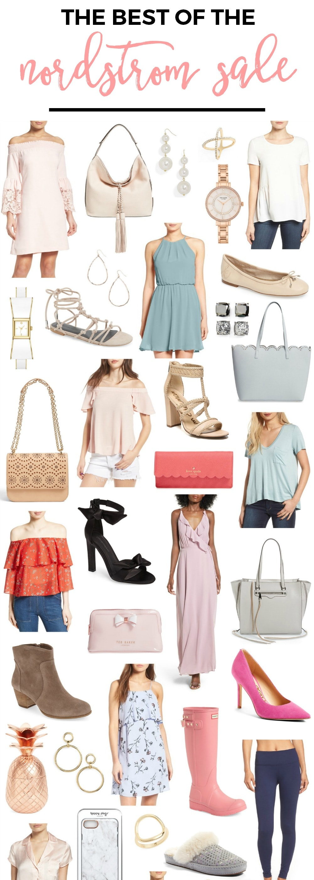 The Best of The Nordstrom Half Yearly Sale | Affordable Summer Clothes and Accessories | Best Memorial Day Weekend Sales | Fashion Blogger Ashley Brooke Nicholas