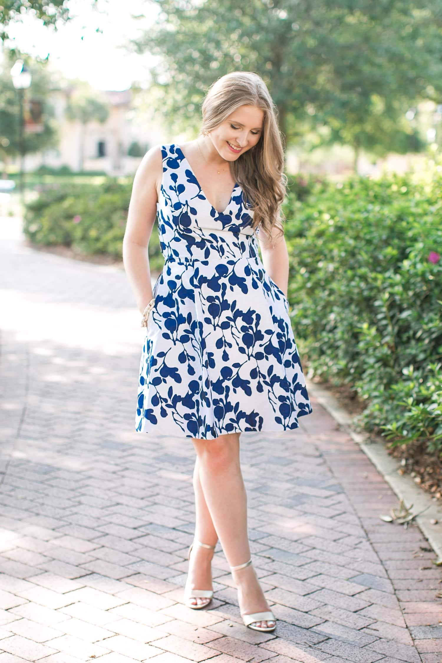 984c0dd5ce My Favorite Betsey Johnson Floral Dress