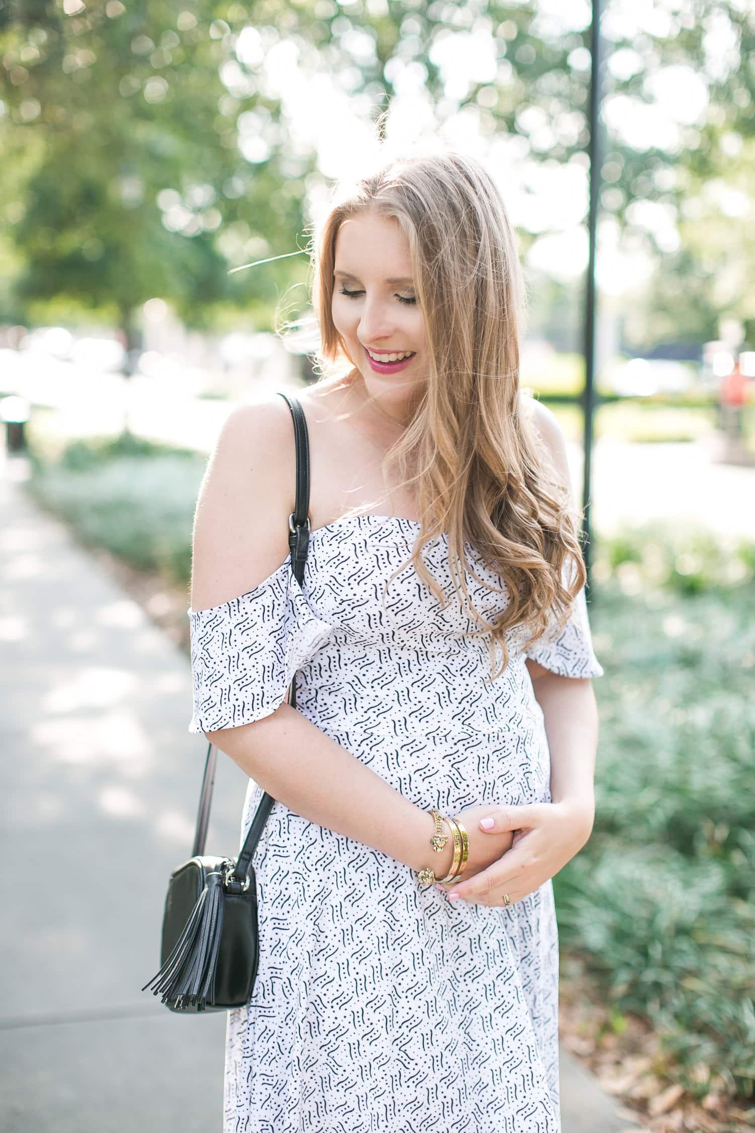 Leith Off The Shoulder Dress Under 40 Ashley Brooke